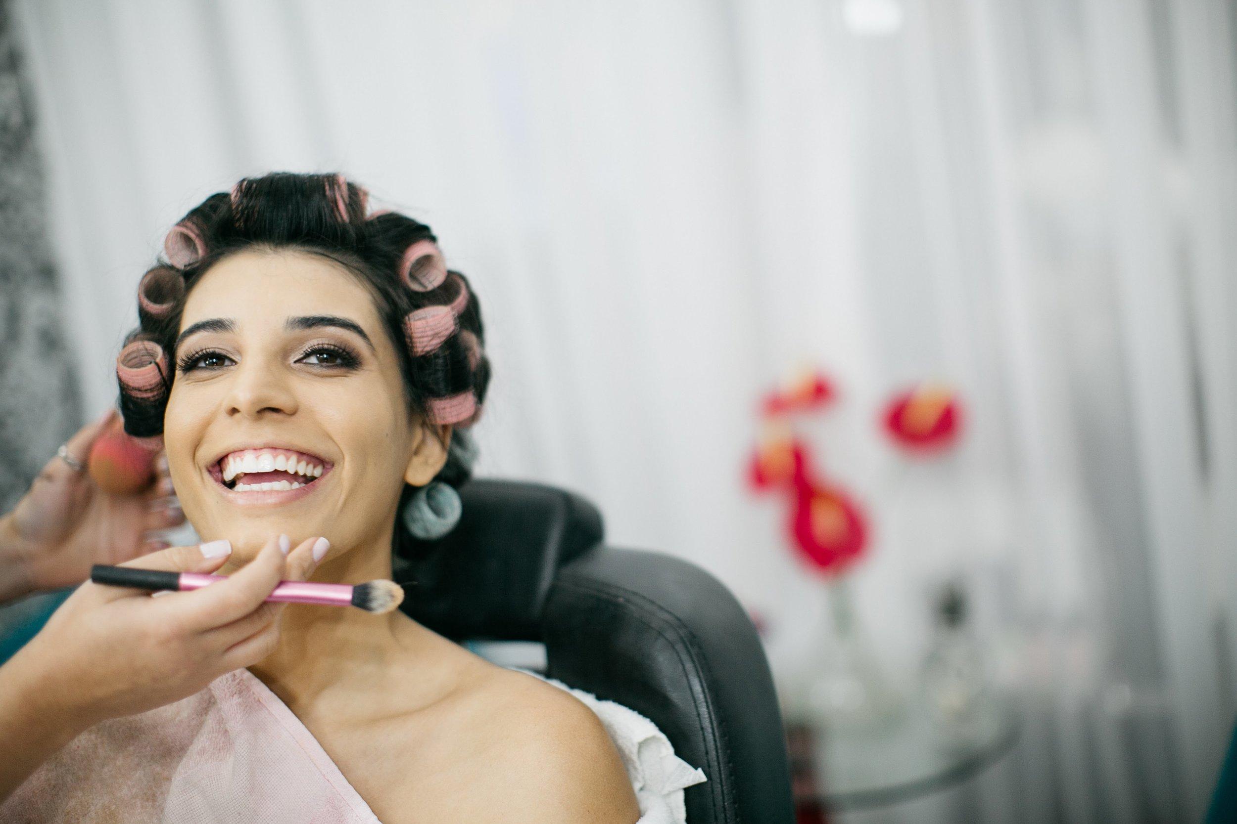bridal makeup laura devides