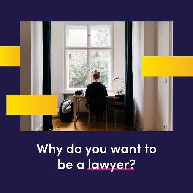 Are you a law student struggling to figure out exactly what you want from your studies? Why do you want to be a lawyer? Seriously, have you even asked yourself that question or are you just going through the motions? It's really important to make sure you are making career choices for your reasons. Not your parents. Not your partners. Not because it sounds good. To be successful in anything you need to be doing it for your reasons, no one else's. So sit down, think about what you want, and go after that.⠀ .⠀ .⠀ .⠀ .⠀ #lawlancer #tech #workfromanywhere #law #lawstudent #lawschool #lawyer #unilaw #university #student #lawfirm #qldlaw