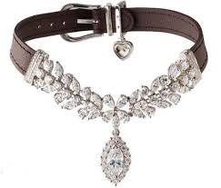 Copy of Pet ashes into diamond set in collar