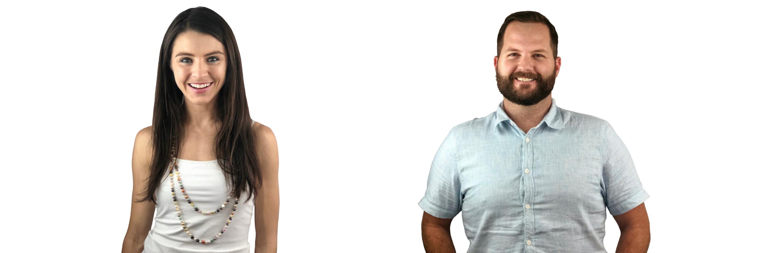 Eterneva Co-Founders: Adelle Archer & Garrett Ozar