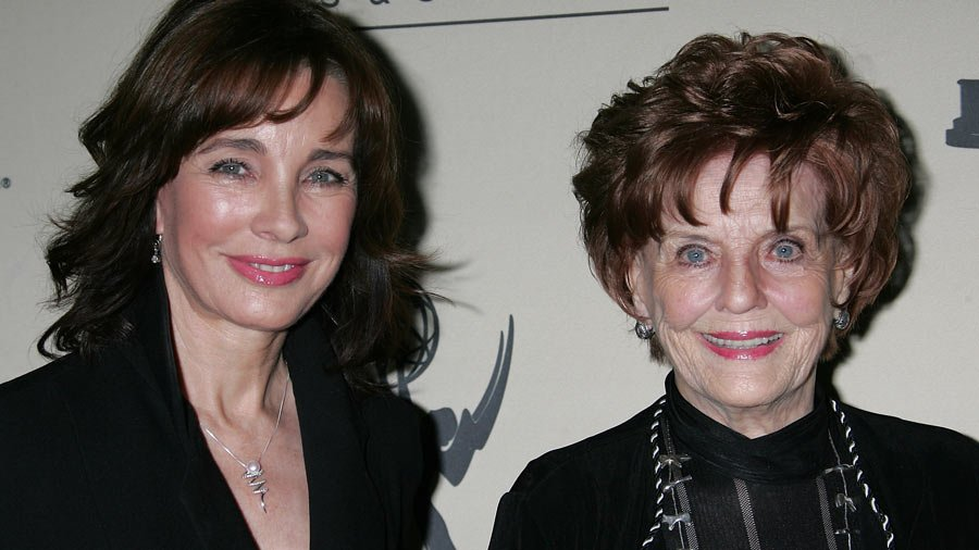 "Anne Archer with her Mom, Marjorie ""Maggie� Lord"
