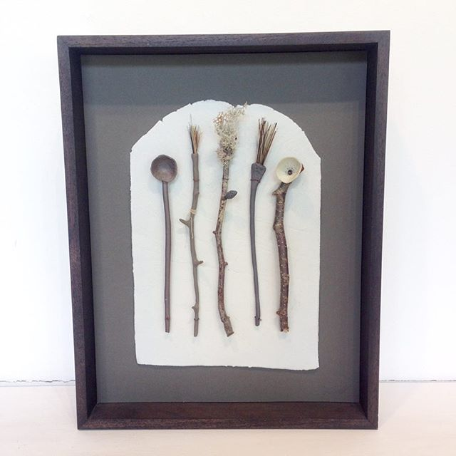 Curious and wonderful piece from studio resident Elaine Bolt available in the shop. Great details that reward a closer look. DM for details! We are open so do come and have a 👀 (today, Friday and Saturday, 11-5)