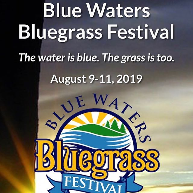 We're heading to Washington to play the Blue Waters Bluegrass Festival and will be playing shows in Bozeman, Billings, Helena, Victor, Emigrant, and Missoula along the way!  Check the link in our bio for more info.  @bluewatersfestival