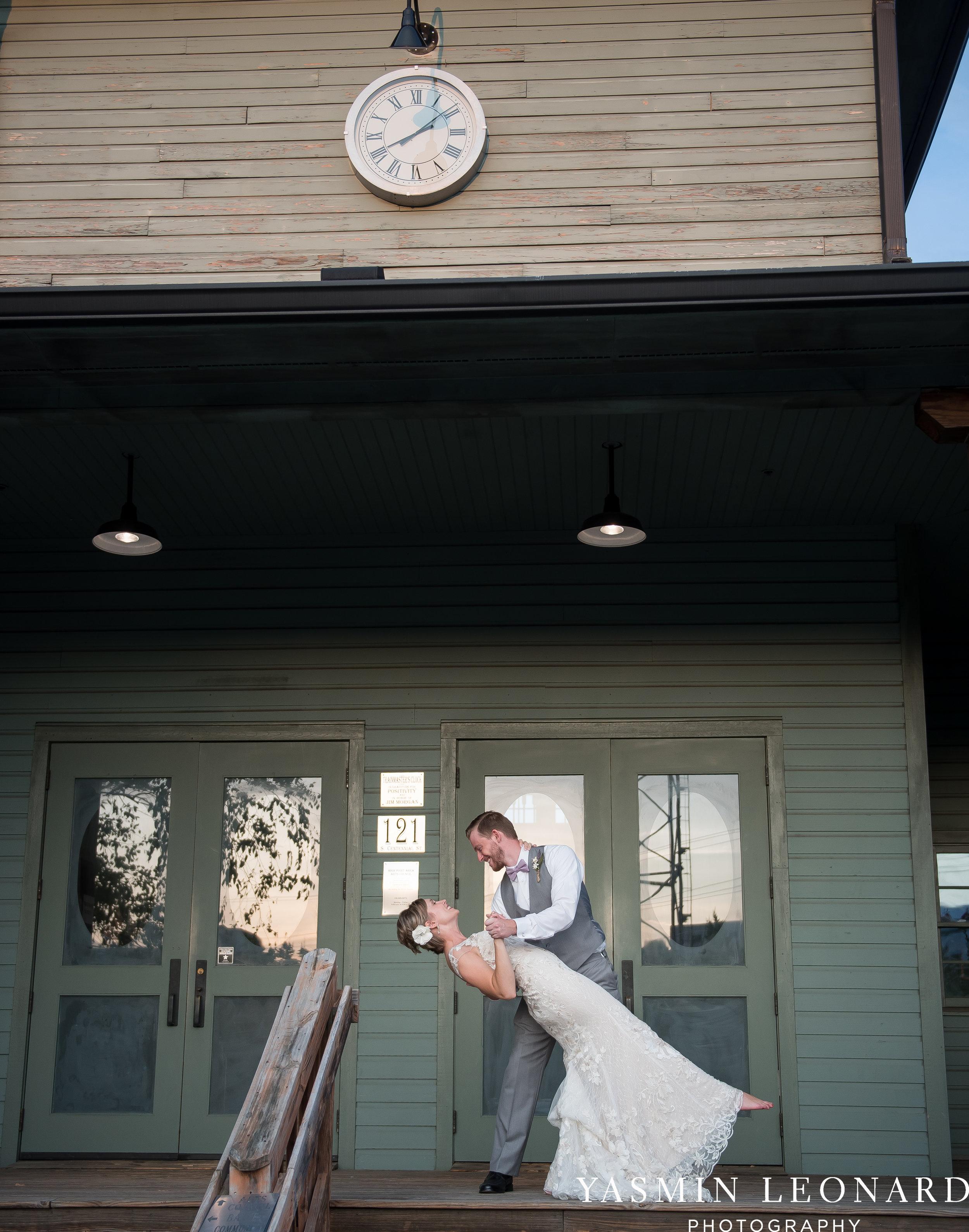 Centennial Station | High Point Wedding Photographer-75.jpg