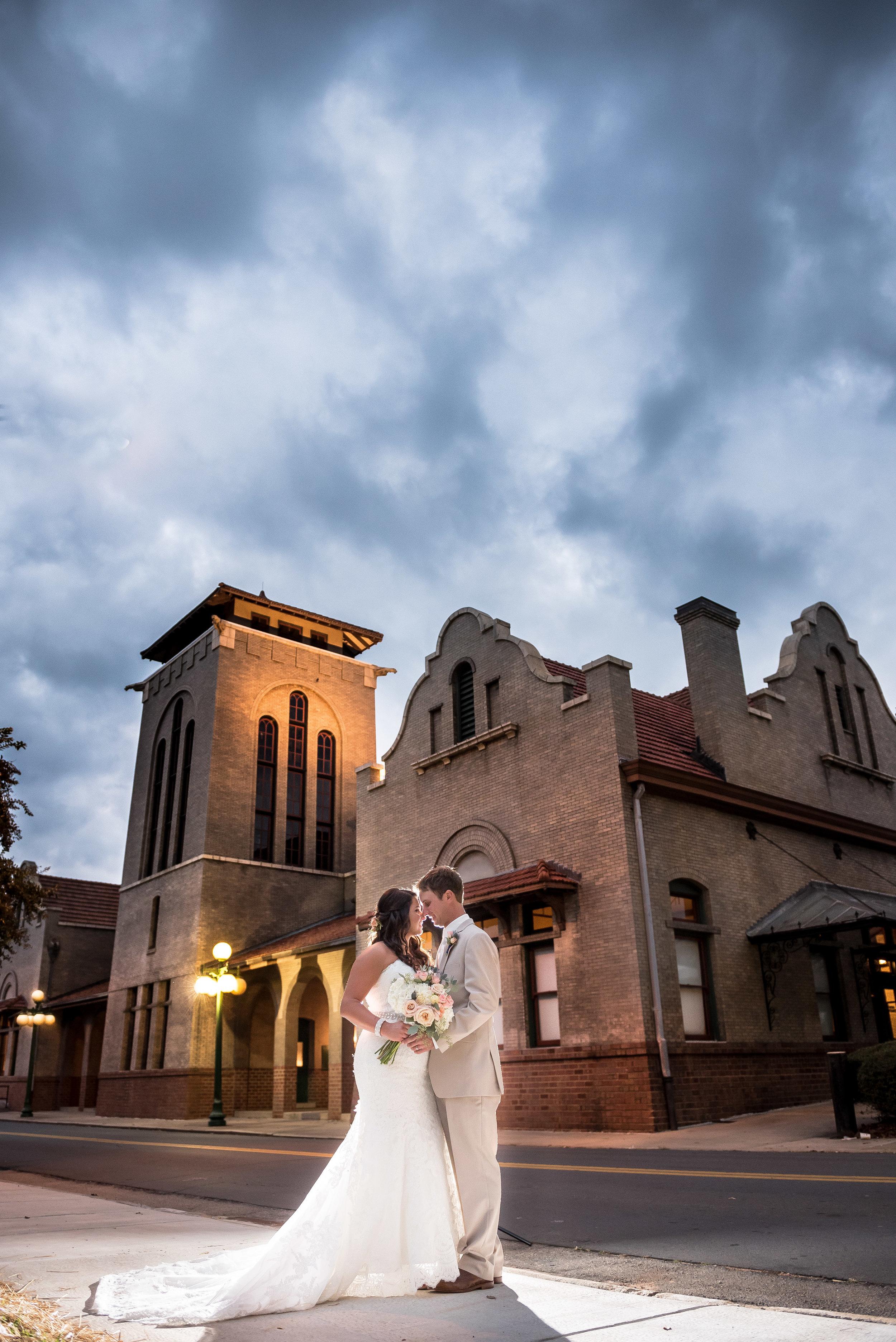 The Salisbury Train Depot | Salisbury NC | Best Wedding Venues in Piedmont Triad NC