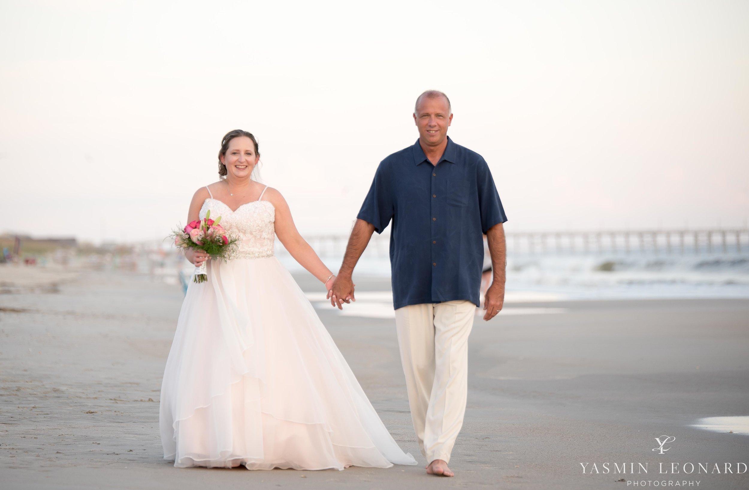 Oak Island Beach Wedding Kari And Chris