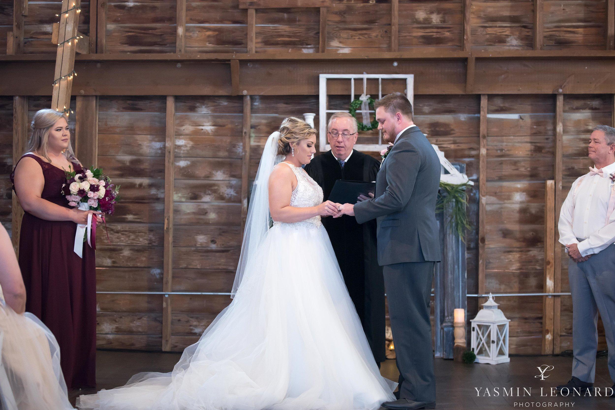Millikan Farms - Millikan Farms Wedding - Sophia NC Wedding - NC Wedding - NC Wedding Photographer - Yasmin Leonard Photography - High Point Photographer - Barn Wedding - Wedding Venues in NC - Triad Wedding Photographer-49.jpg