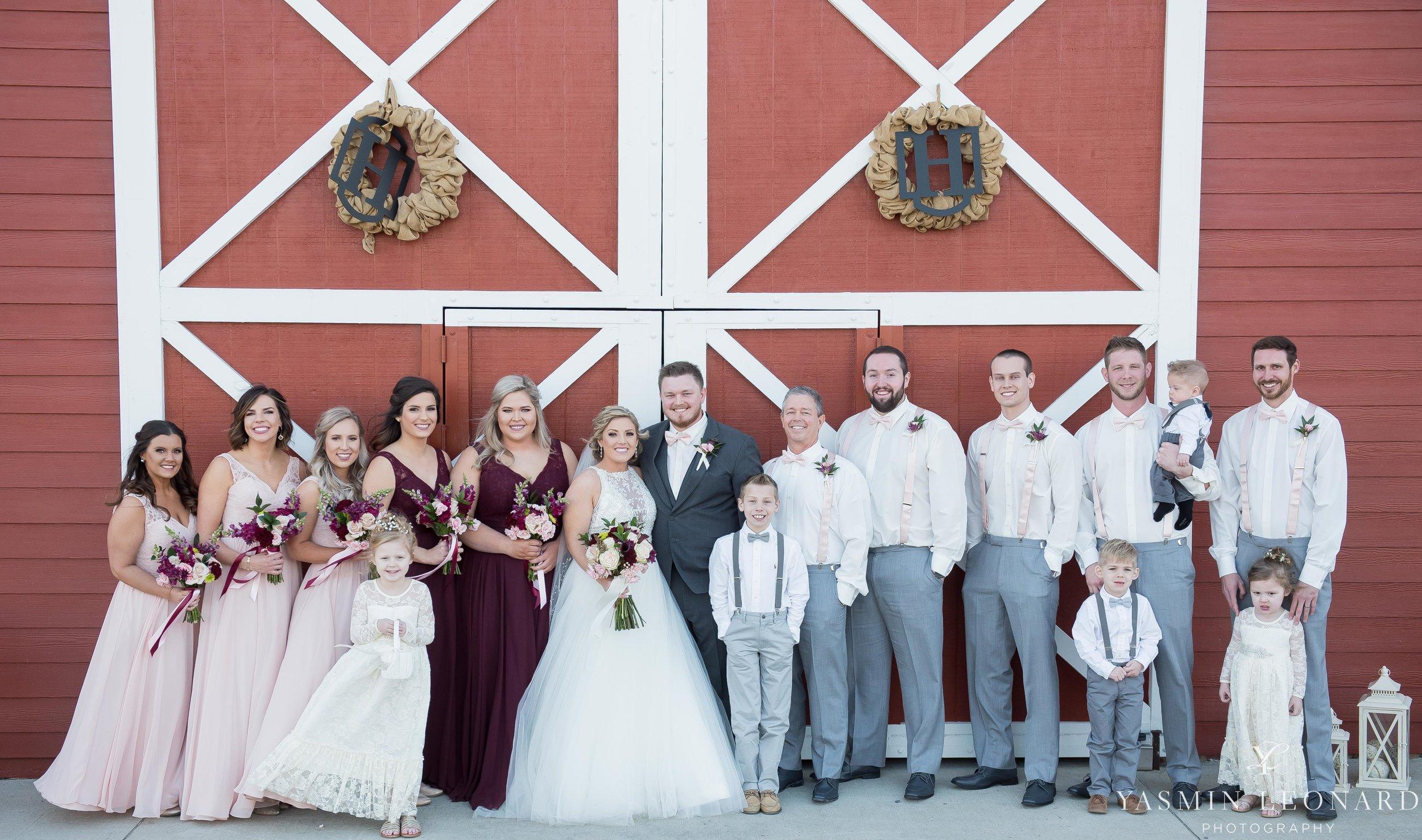 Millikan Farms - Millikan Farms Wedding - Sophia NC Wedding - NC Wedding - NC Wedding Photographer - Yasmin Leonard Photography - High Point Photographer - Barn Wedding - Wedding Venues in NC - Triad Wedding Photographer-52.jpg