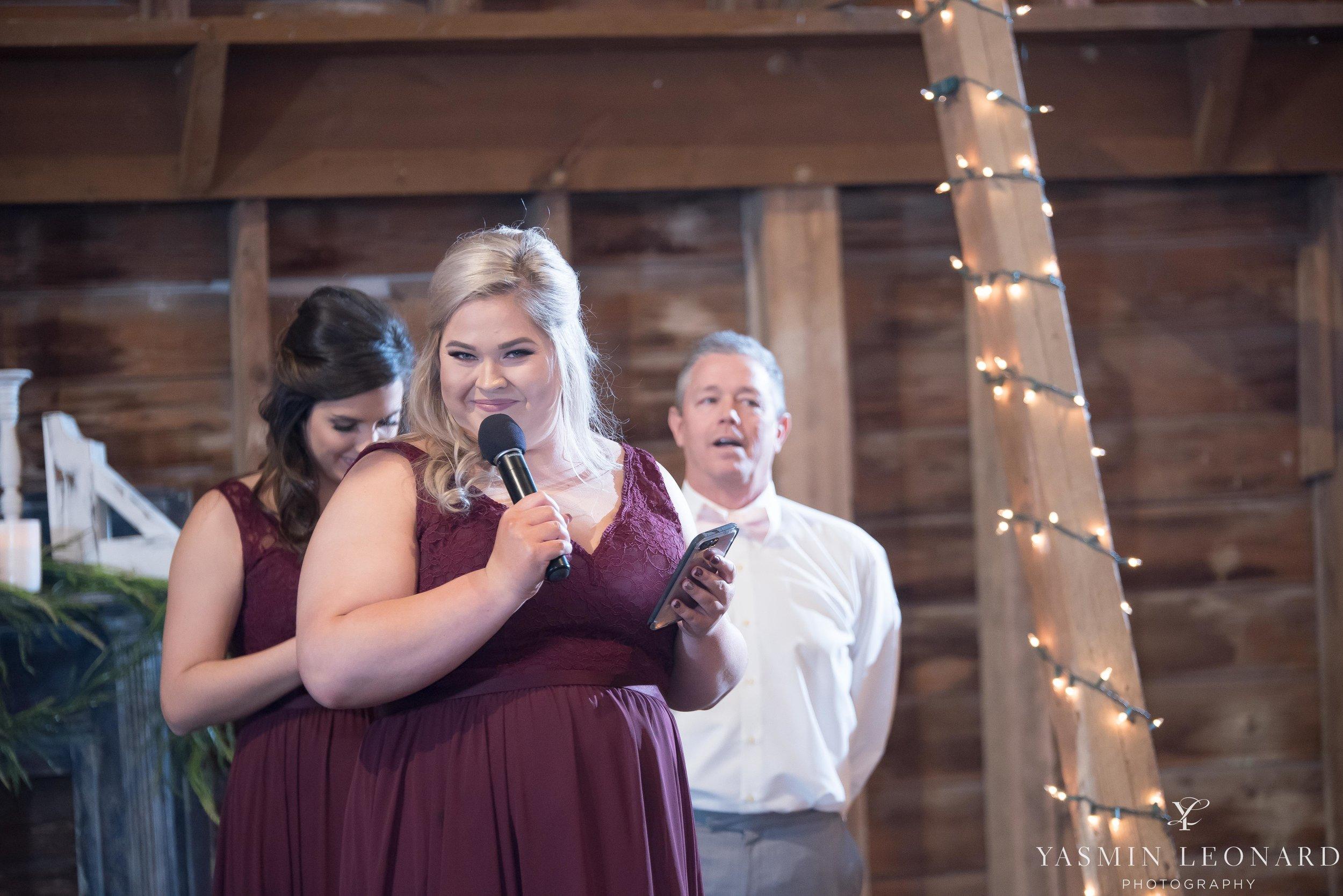 Millikan Farms - Millikan Farms Wedding - Sophia NC Wedding - NC Wedding - NC Wedding Photographer - Yasmin Leonard Photography - High Point Photographer - Barn Wedding - Wedding Venues in NC - Triad Wedding Photographer-71.jpg