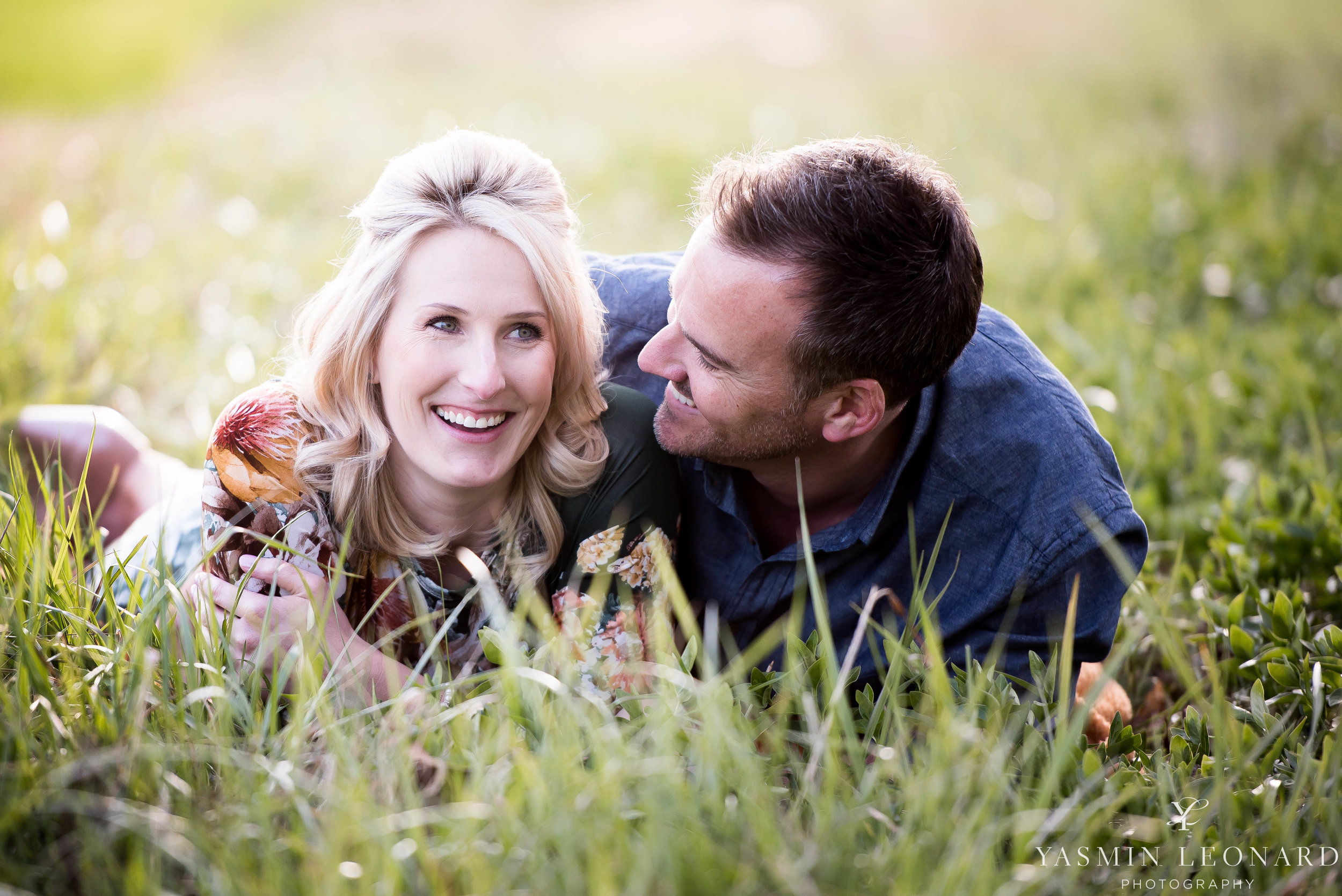 High Point Wedding Photographer - NC Wedding Photographer - Yasmin Leonard Photography - Engagement Poses - Engagement Ideas - Outdoor Engagement Session-1.jpg