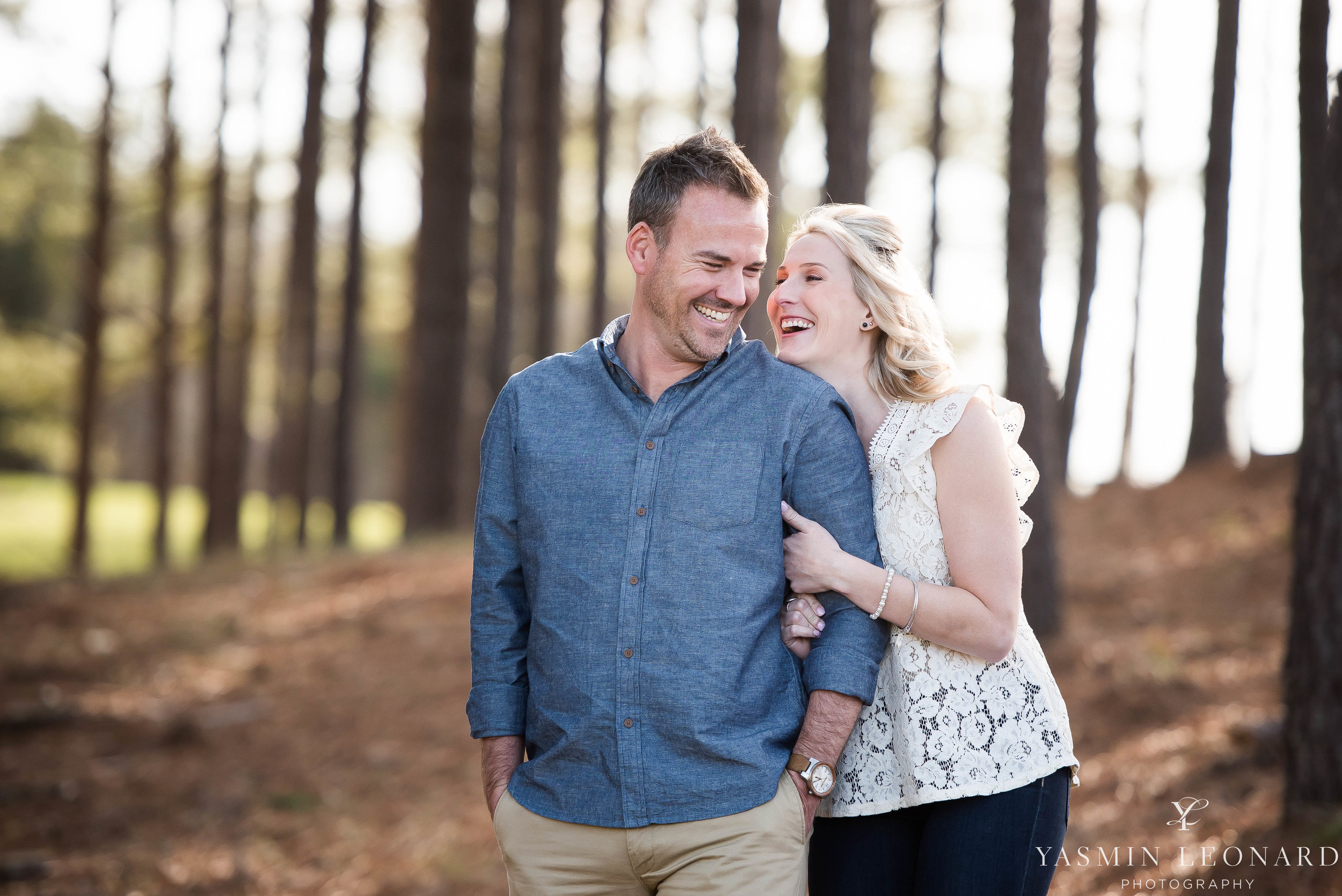 High Point Wedding Photographer - NC Wedding Photographer - Yasmin Leonard Photography - Engagement Poses - Engagement Ideas - Outdoor Engagement Session-3.jpg