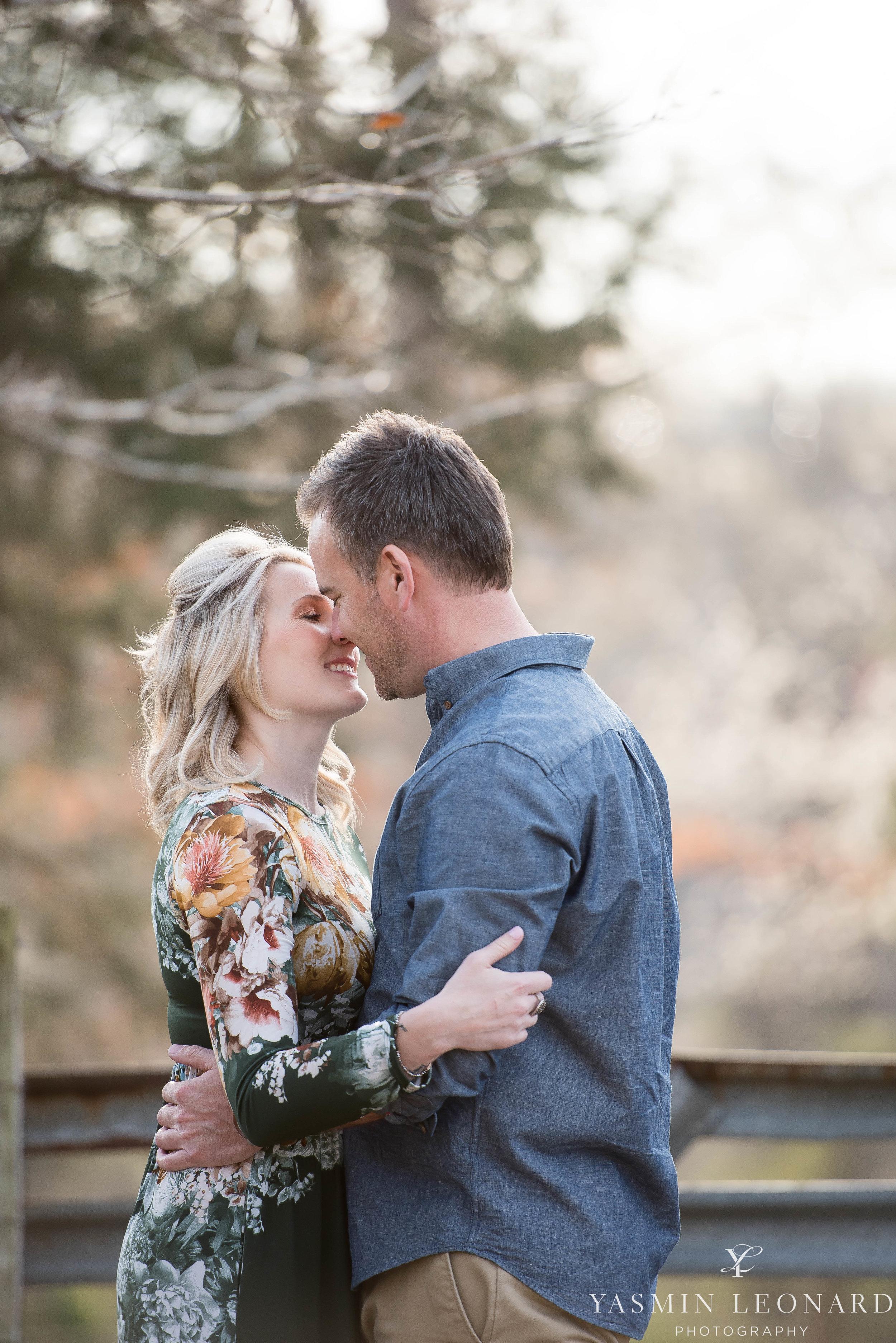 High Point Wedding Photographer - NC Wedding Photographer - Yasmin Leonard Photography - Engagement Poses - Engagement Ideas - Outdoor Engagement Session-4.jpg