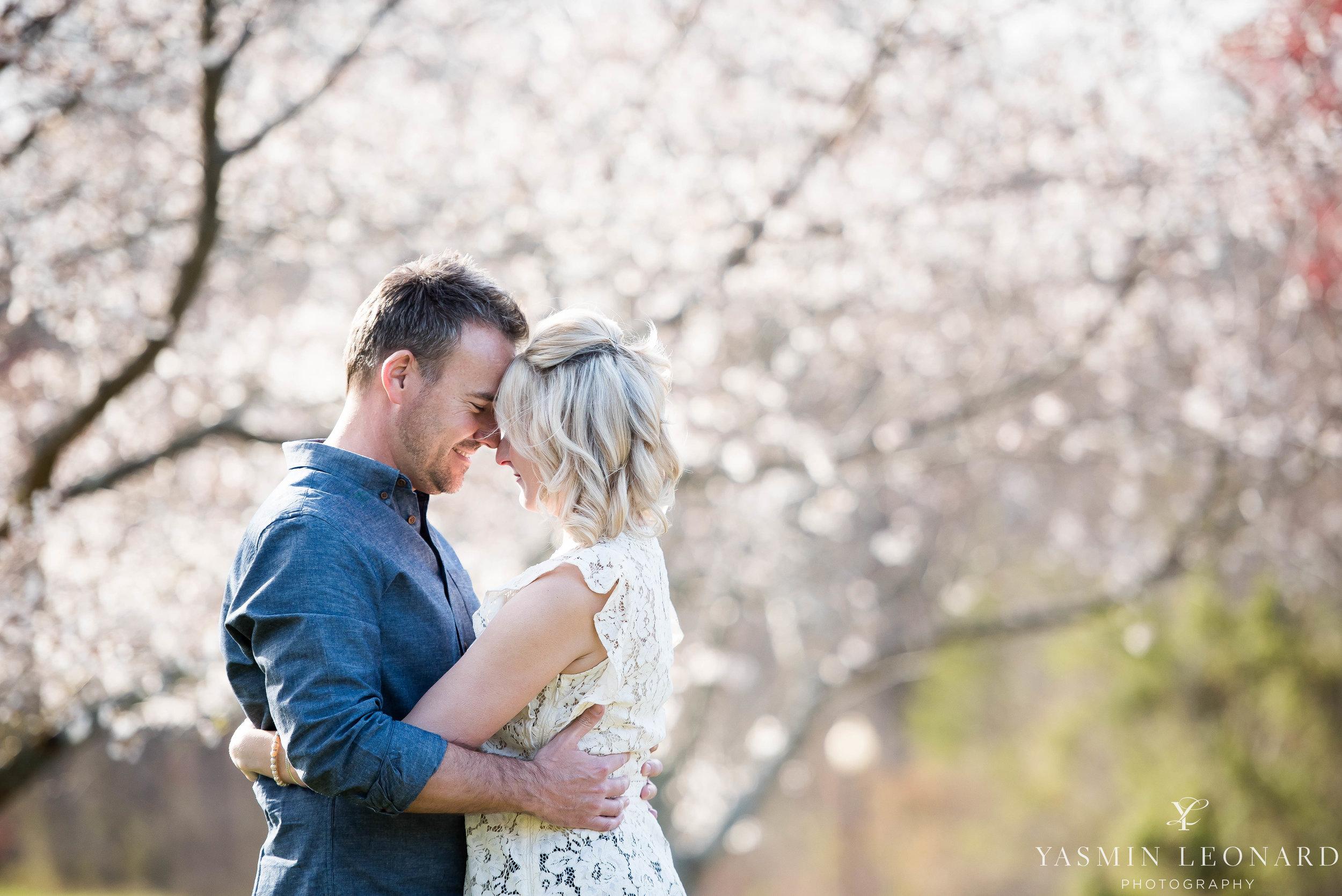 High Point Wedding Photographer - NC Wedding Photographer - Yasmin Leonard Photography - Engagement Poses - Engagement Ideas - Outdoor Engagement Session-6.jpg