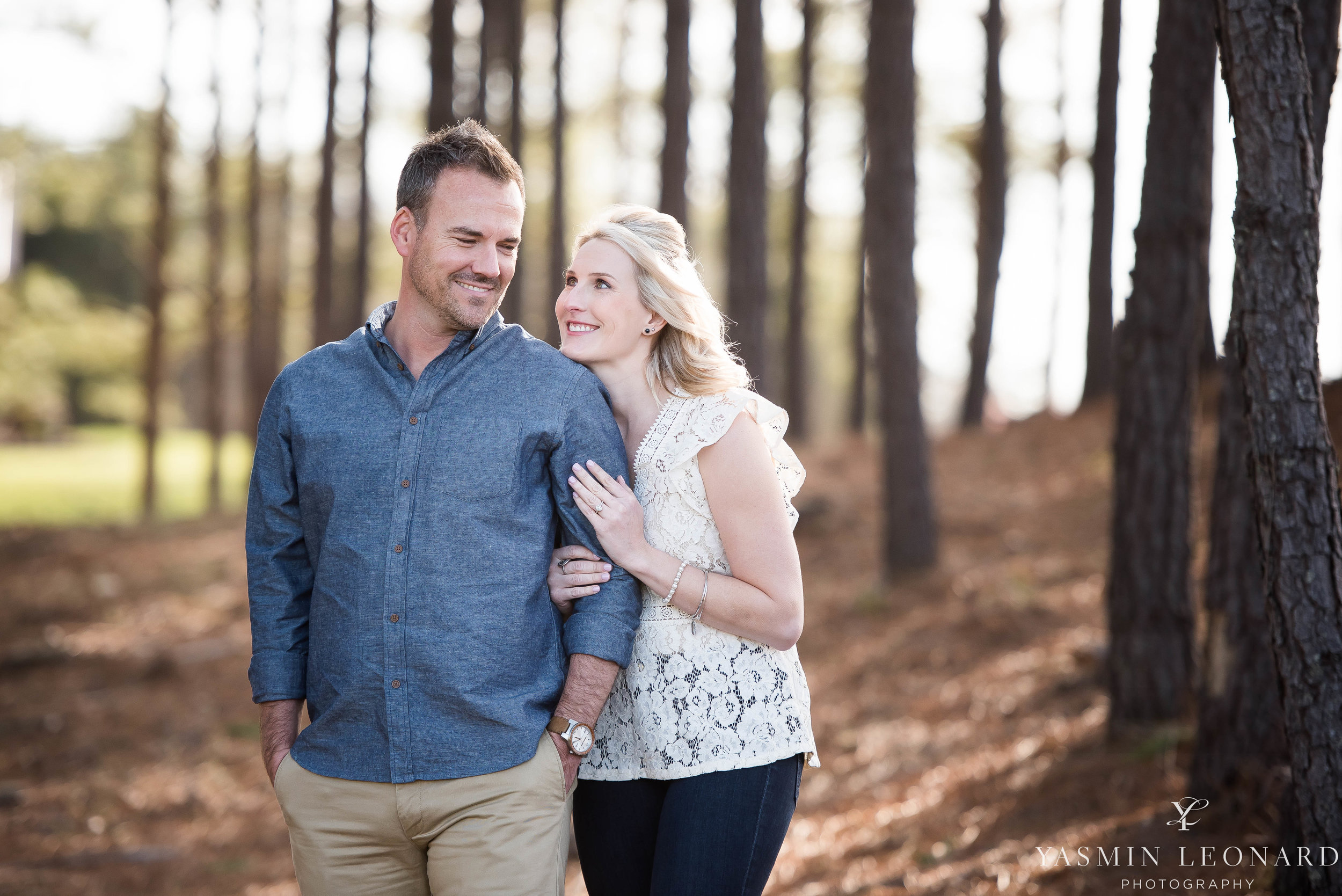High Point Wedding Photographer - NC Wedding Photographer - Yasmin Leonard Photography - Engagement Poses - Engagement Ideas - Outdoor Engagement Session-9.jpg