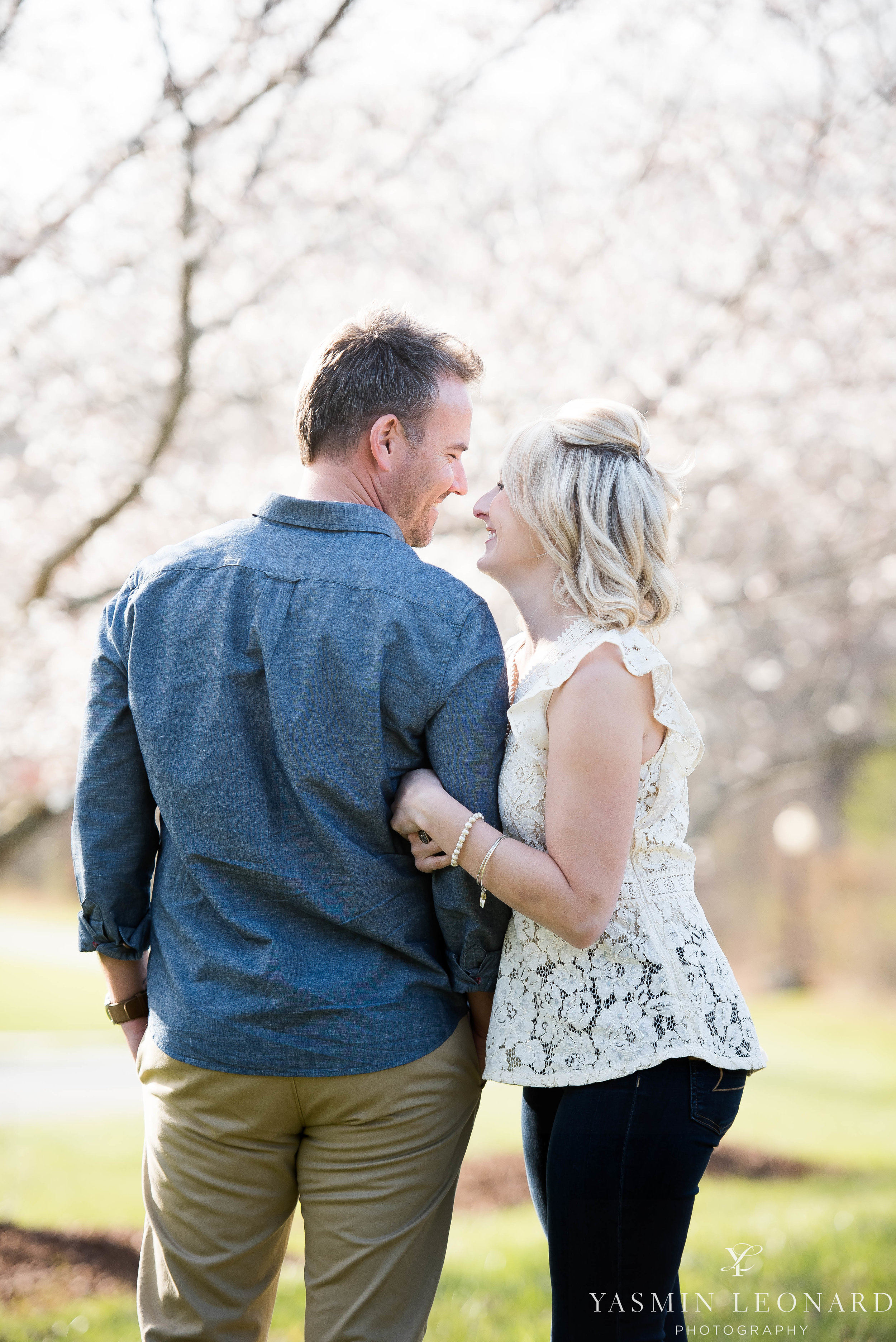 High Point Wedding Photographer - NC Wedding Photographer - Yasmin Leonard Photography - Engagement Poses - Engagement Ideas - Outdoor Engagement Session-10.jpg