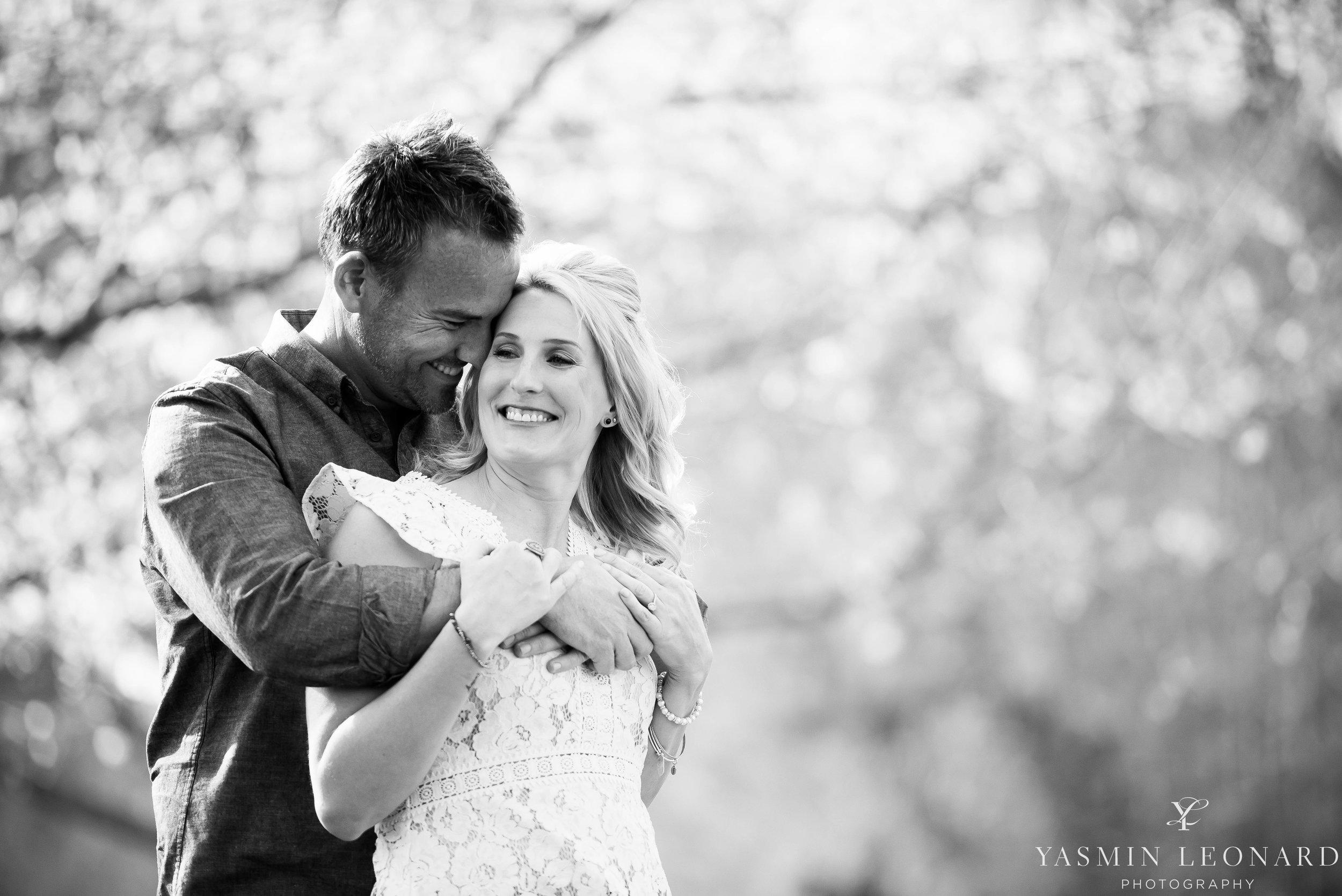 High Point Wedding Photographer - NC Wedding Photographer - Yasmin Leonard Photography - Engagement Poses - Engagement Ideas - Outdoor Engagement Session-11.jpg