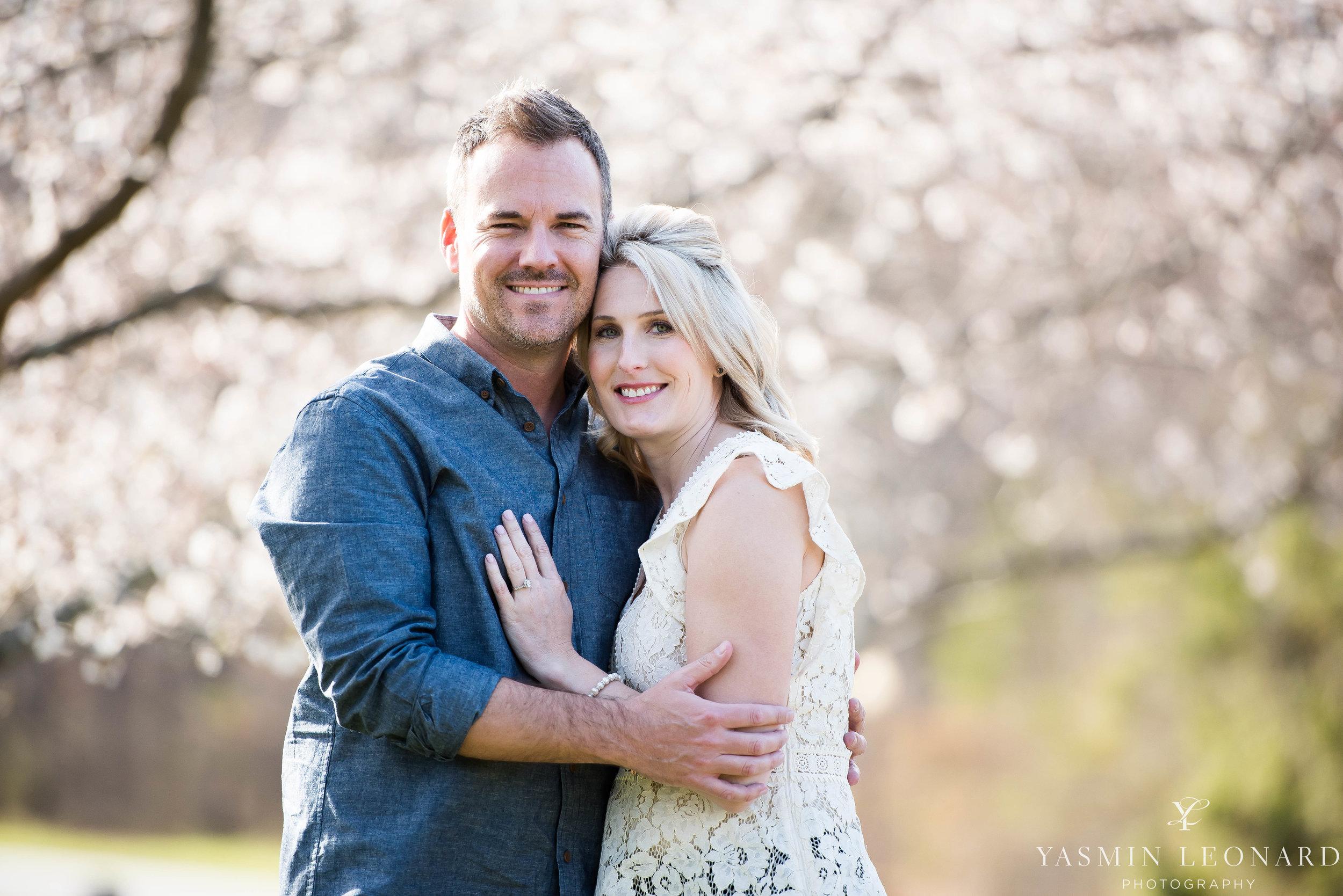 High Point Wedding Photographer - NC Wedding Photographer - Yasmin Leonard Photography - Engagement Poses - Engagement Ideas - Outdoor Engagement Session-12.jpg