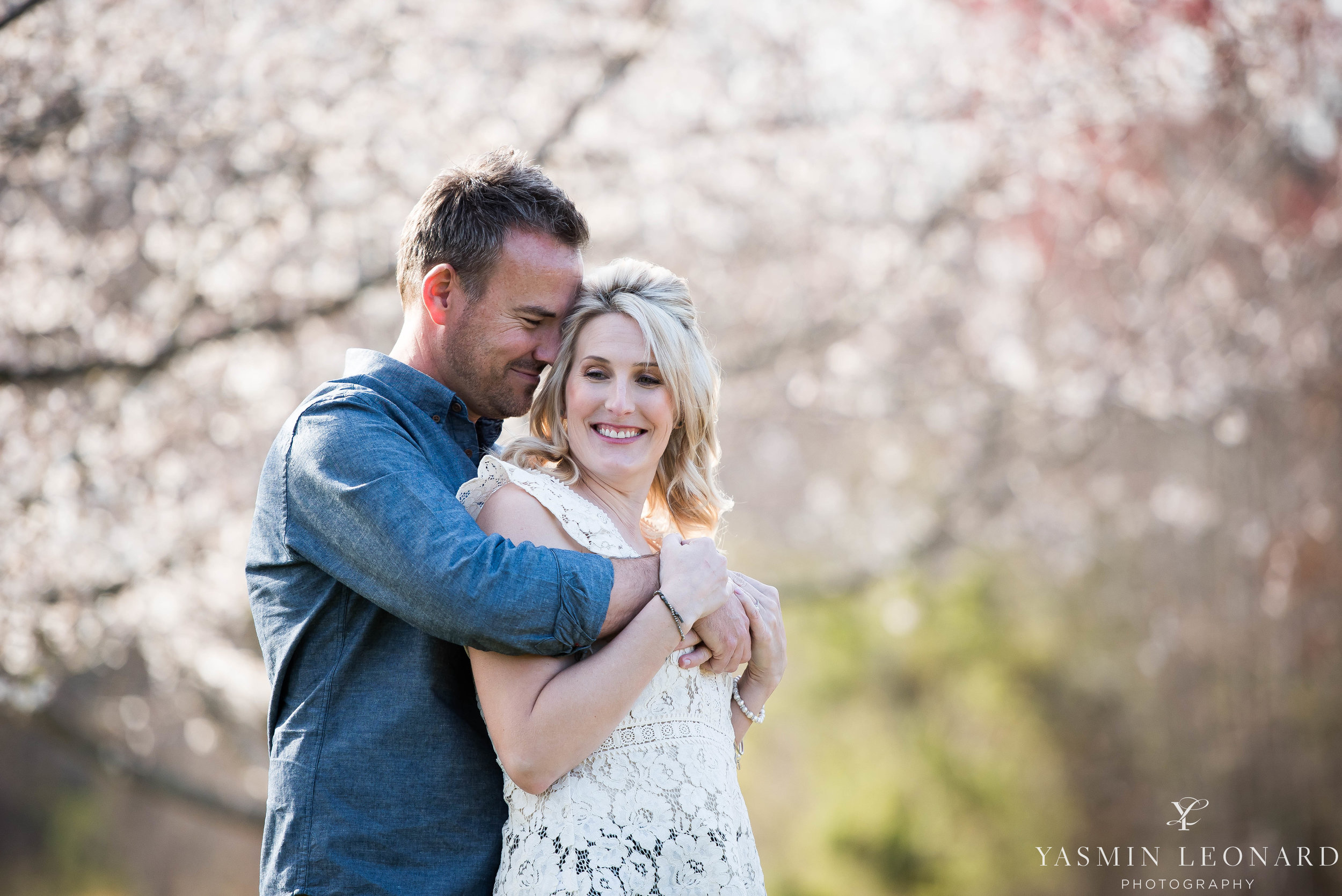 High Point Wedding Photographer - NC Wedding Photographer - Yasmin Leonard Photography - Engagement Poses - Engagement Ideas - Outdoor Engagement Session-14.jpg