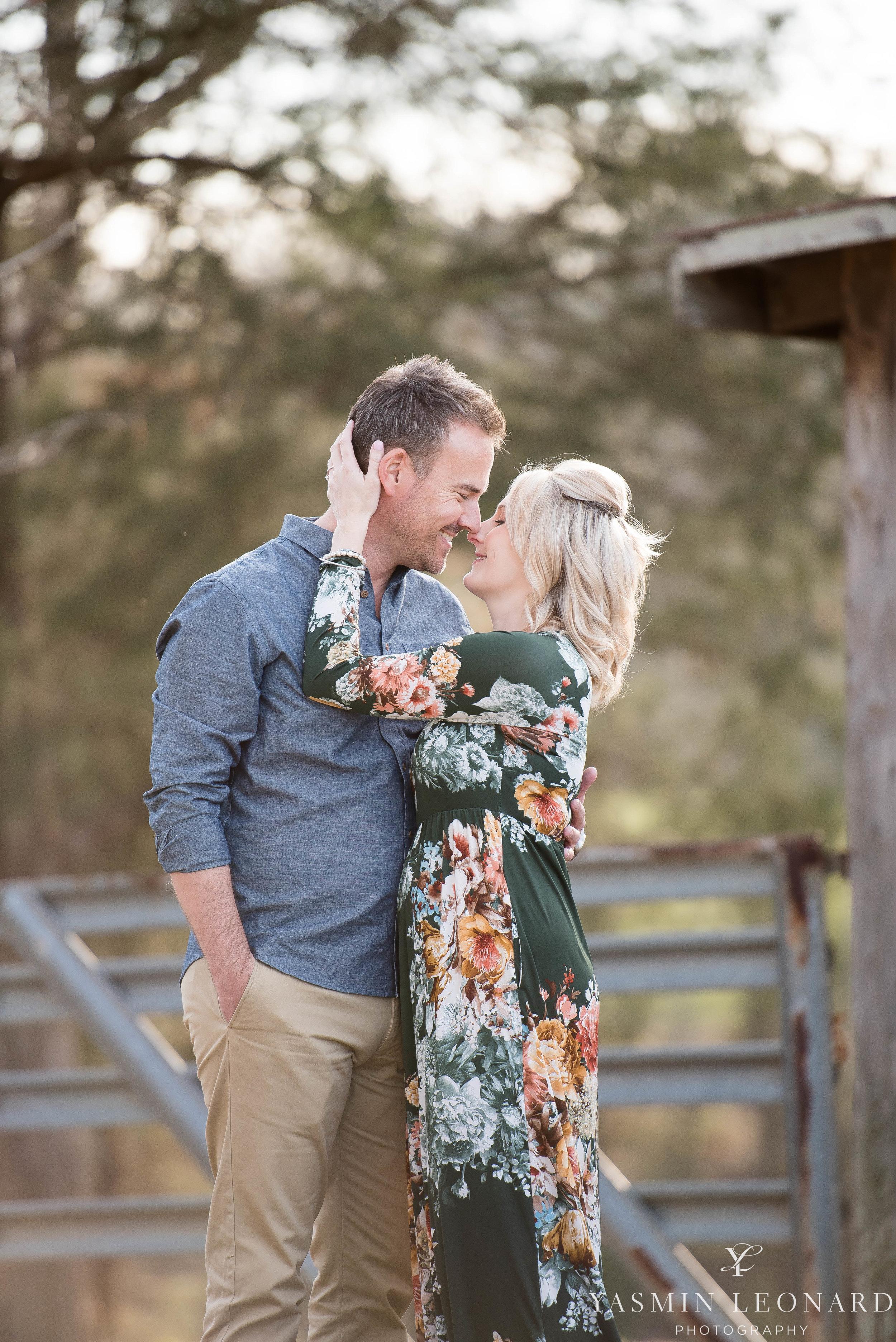 High Point Wedding Photographer - NC Wedding Photographer - Yasmin Leonard Photography - Engagement Poses - Engagement Ideas - Outdoor Engagement Session-13.jpg