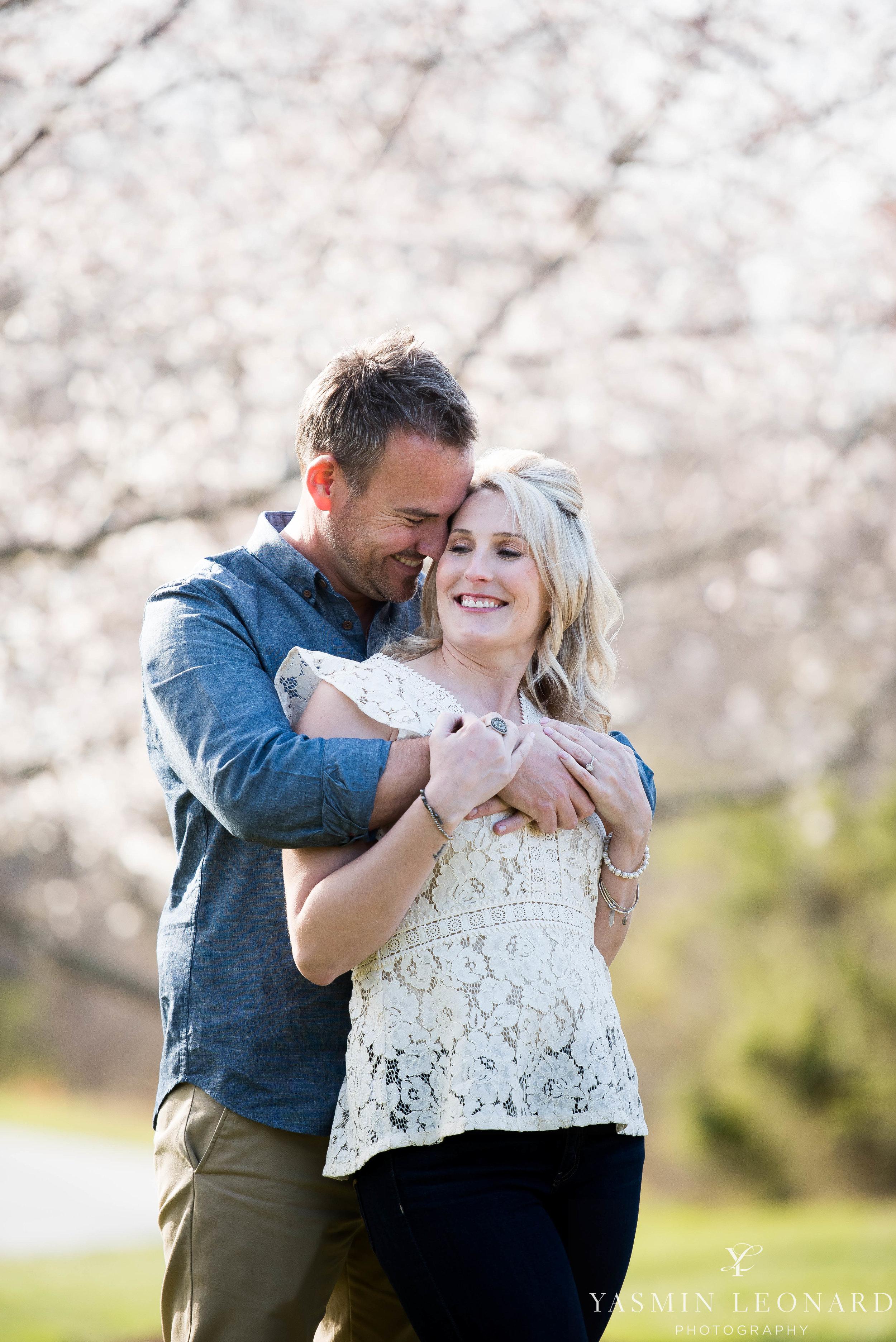 High Point Wedding Photographer - NC Wedding Photographer - Yasmin Leonard Photography - Engagement Poses - Engagement Ideas - Outdoor Engagement Session-15.jpg