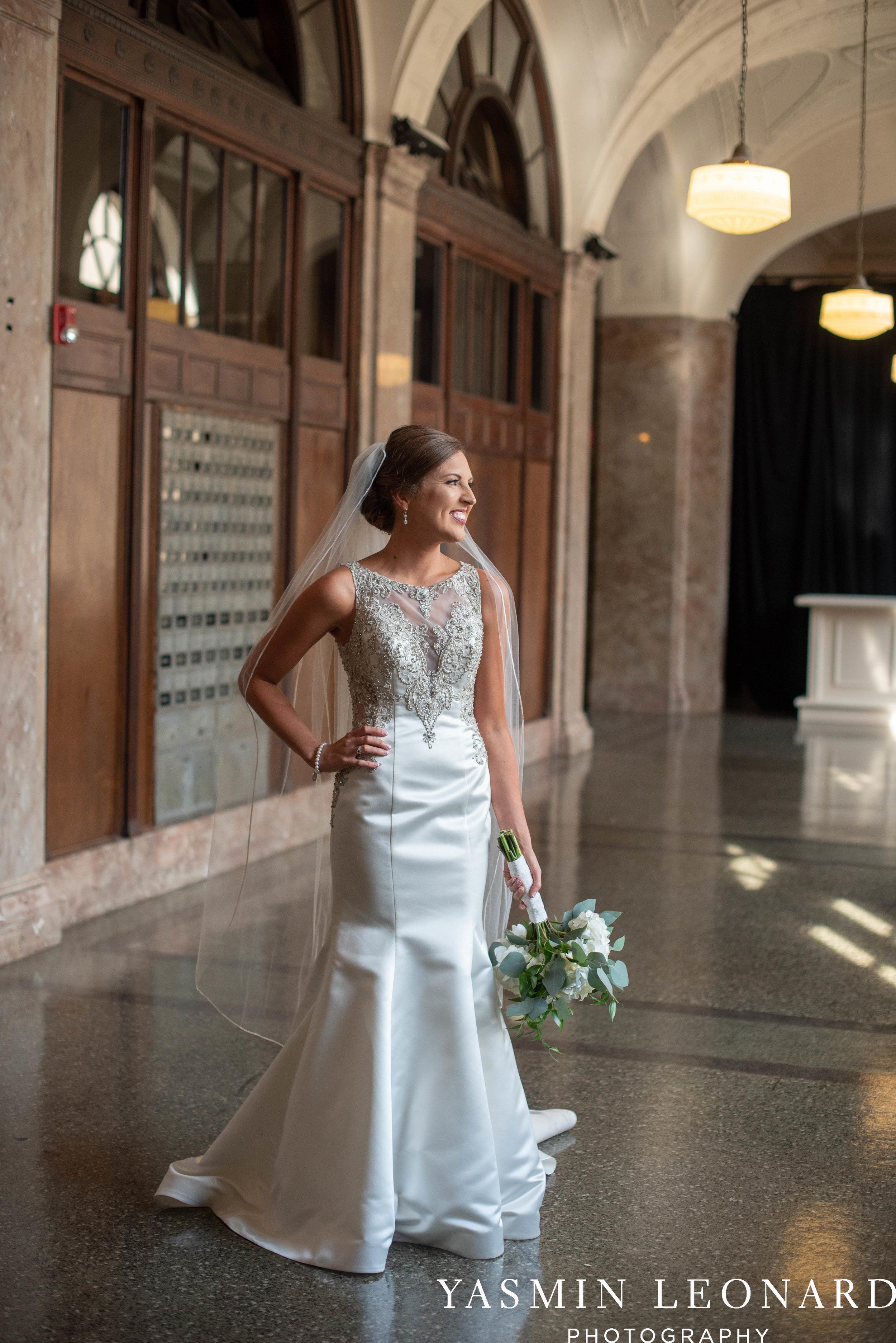 Millennium Center Wedding - Downtown Winston Salem - Winston Salem Wedding Photographer - Winston Salem Venues - Indoor Wedding Venues - NC Wedding Photographer - Yasmin Leonard Photography-16.jpg