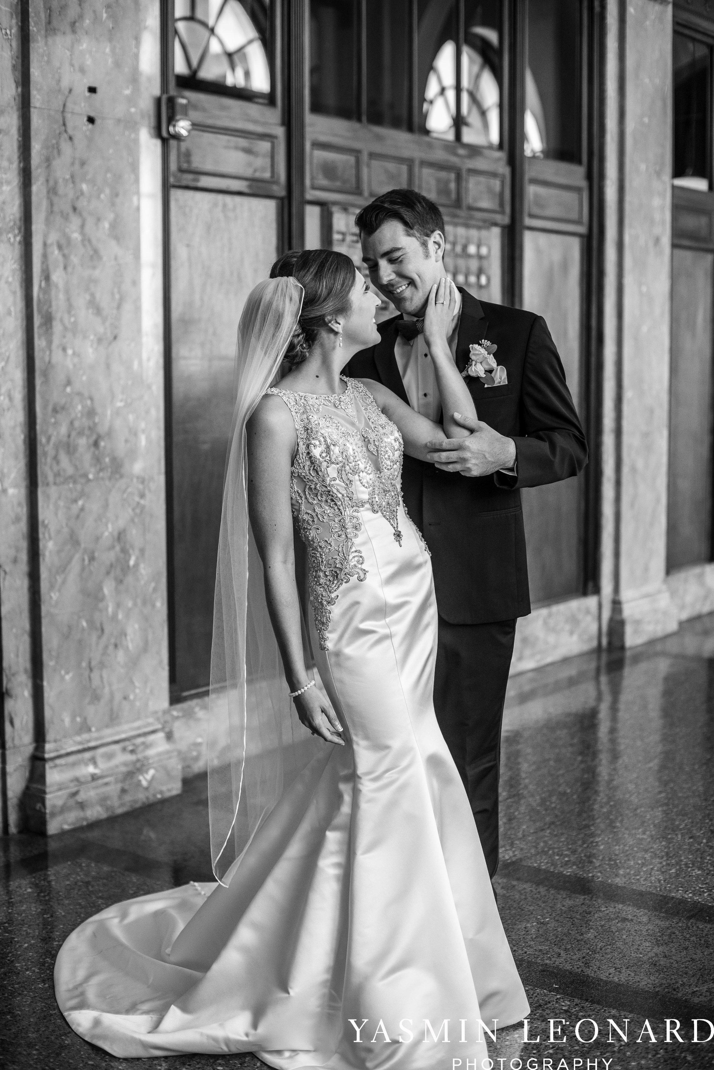 Millennium Center Wedding - Downtown Winston Salem - Winston Salem Wedding Photographer - Winston Salem Venues - Indoor Wedding Venues - NC Wedding Photographer - Yasmin Leonard Photography-25.jpg