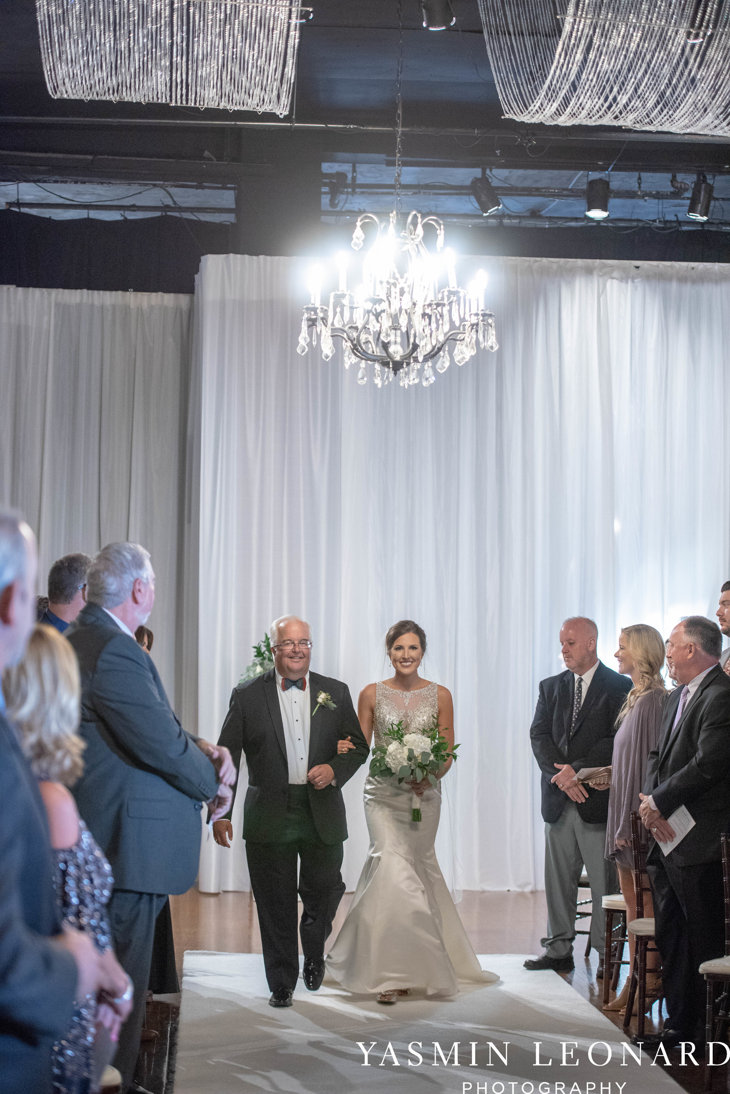 Millennium Center Wedding - Downtown Winston Salem - Winston Salem Wedding Photographer - Winston Salem Venues - Indoor Wedding Venues - NC Wedding Photographer - Yasmin Leonard Photography-35.jpg