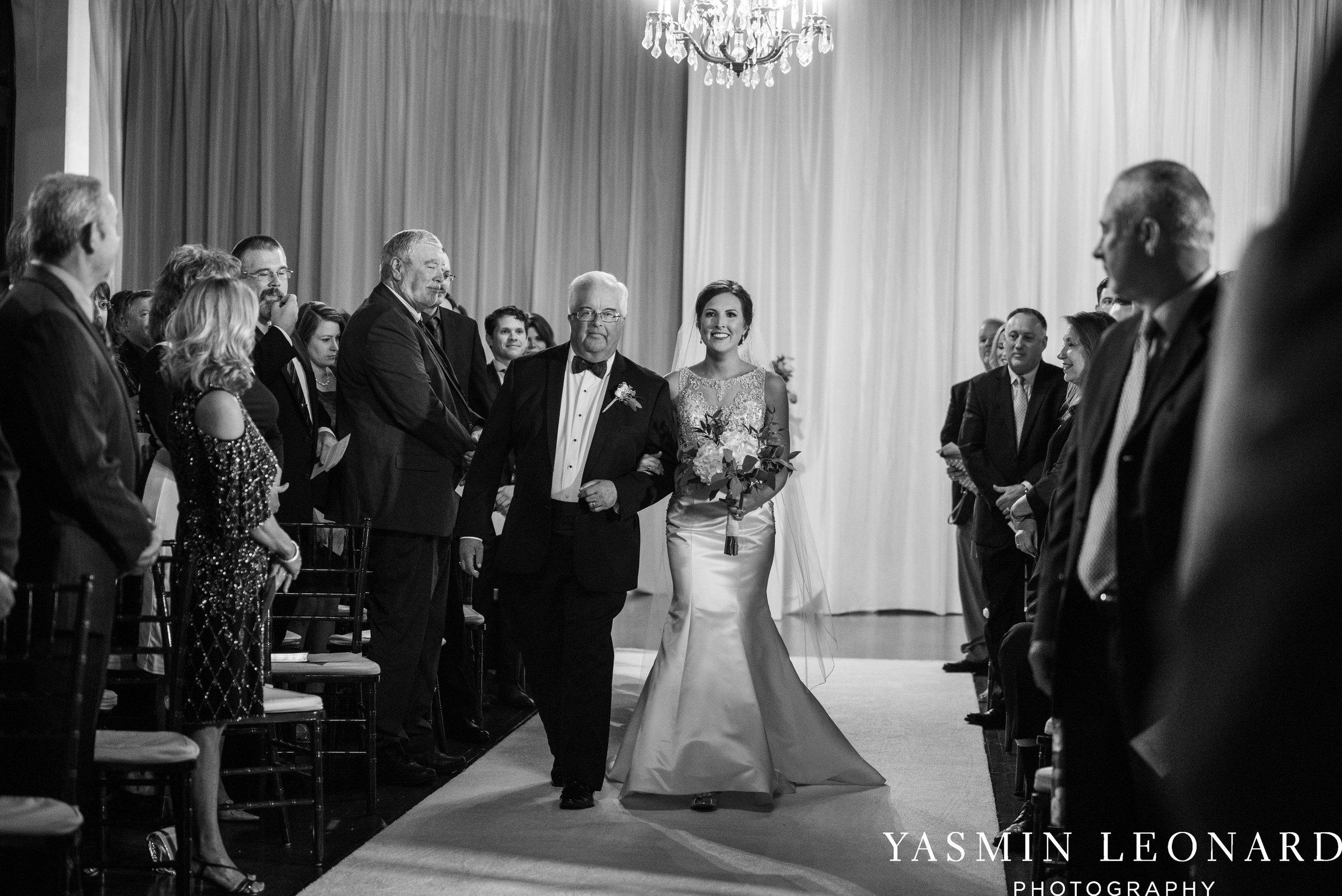 Millennium Center Wedding - Downtown Winston Salem - Winston Salem Wedding Photographer - Winston Salem Venues - Indoor Wedding Venues - NC Wedding Photographer - Yasmin Leonard Photography-37.jpg
