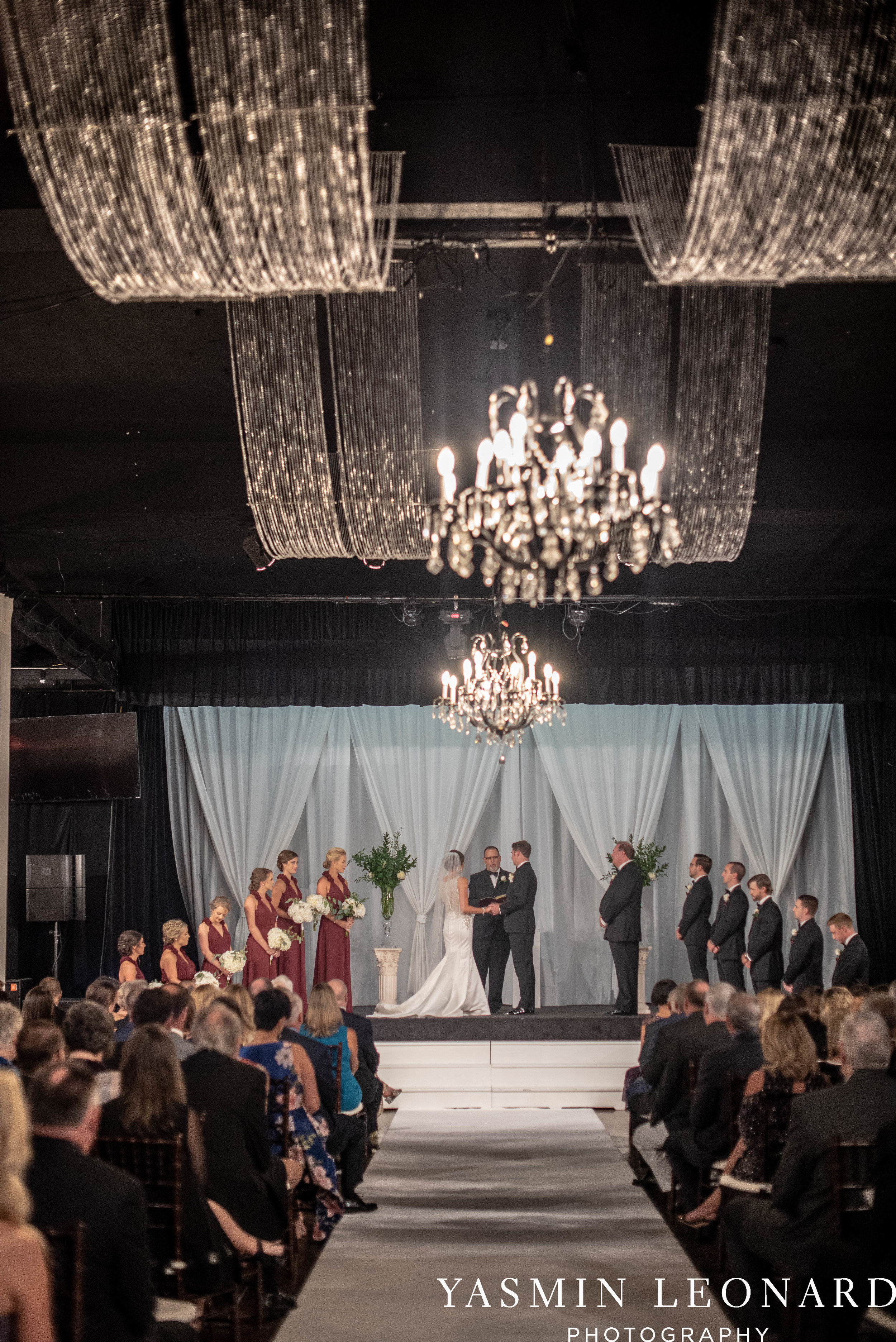 Millennium Center Wedding - Downtown Winston Salem - Winston Salem Wedding Photographer - Winston Salem Venues - Indoor Wedding Venues - NC Wedding Photographer - Yasmin Leonard Photography-38.jpg