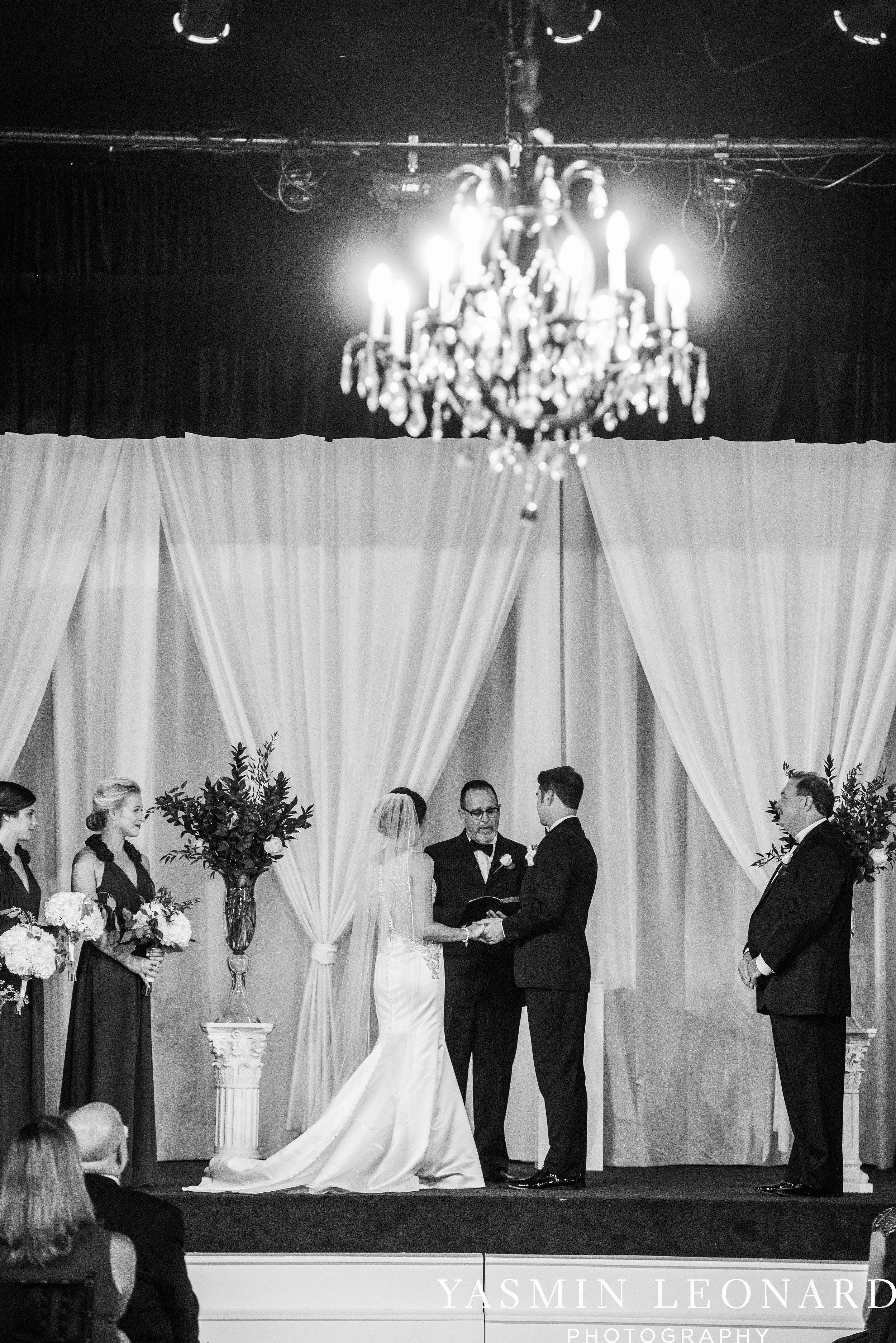 Millennium Center Wedding - Downtown Winston Salem - Winston Salem Wedding Photographer - Winston Salem Venues - Indoor Wedding Venues - NC Wedding Photographer - Yasmin Leonard Photography-39.jpg