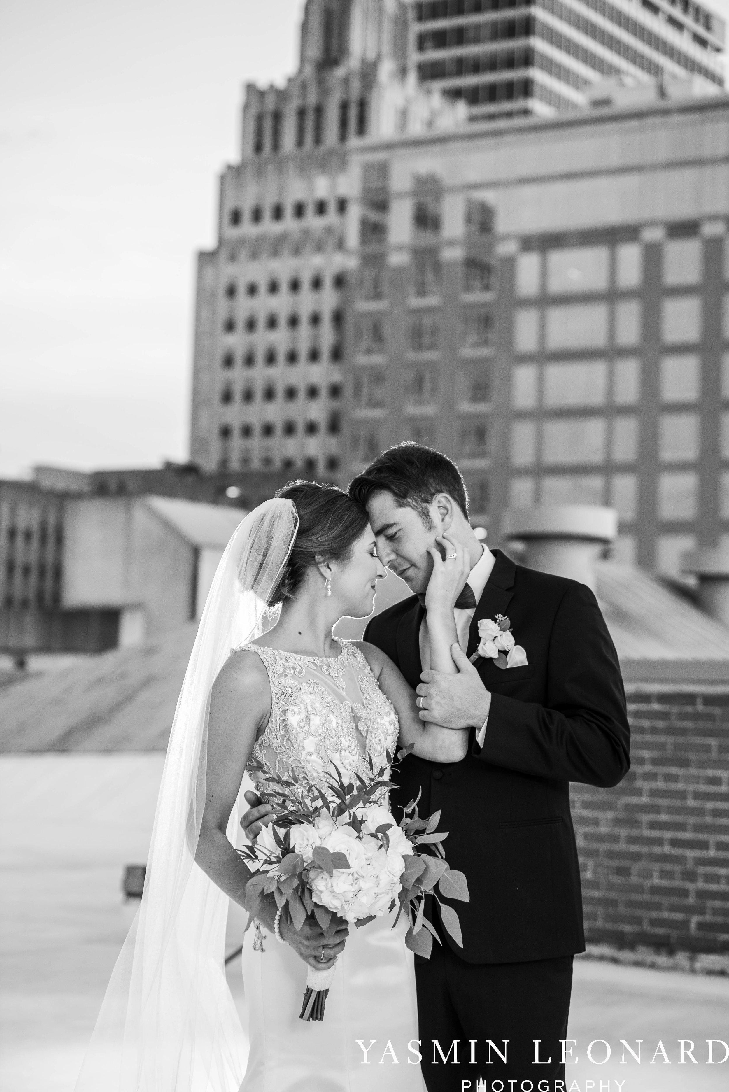 Millennium Center Wedding - Downtown Winston Salem - Winston Salem Wedding Photographer - Winston Salem Venues - Indoor Wedding Venues - NC Wedding Photographer - Yasmin Leonard Photography-53.jpg