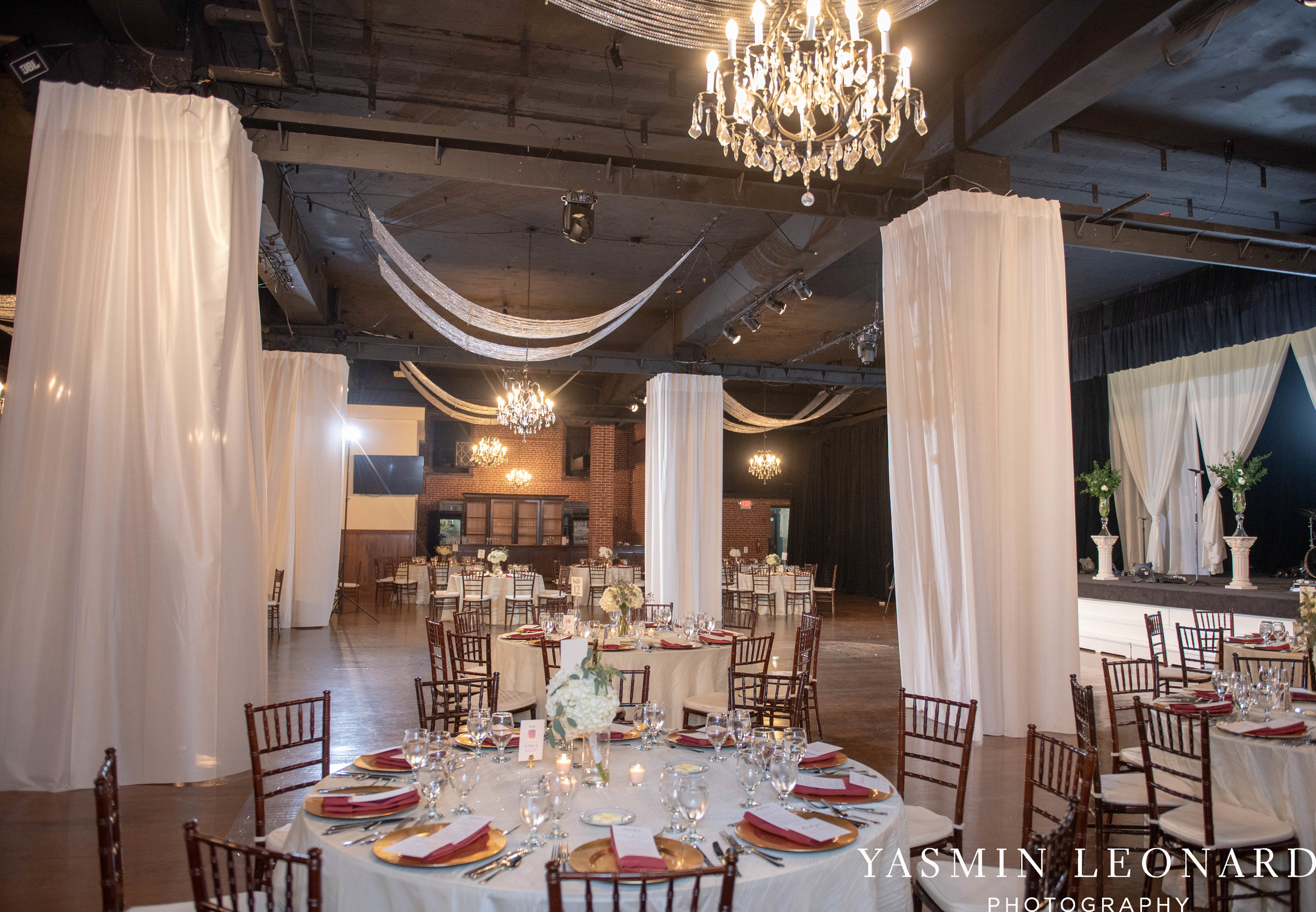 Millennium Center Wedding - Downtown Winston Salem - Winston Salem Wedding Photographer - Winston Salem Venues - Indoor Wedding Venues - NC Wedding Photographer - Yasmin Leonard Photography-62.jpg