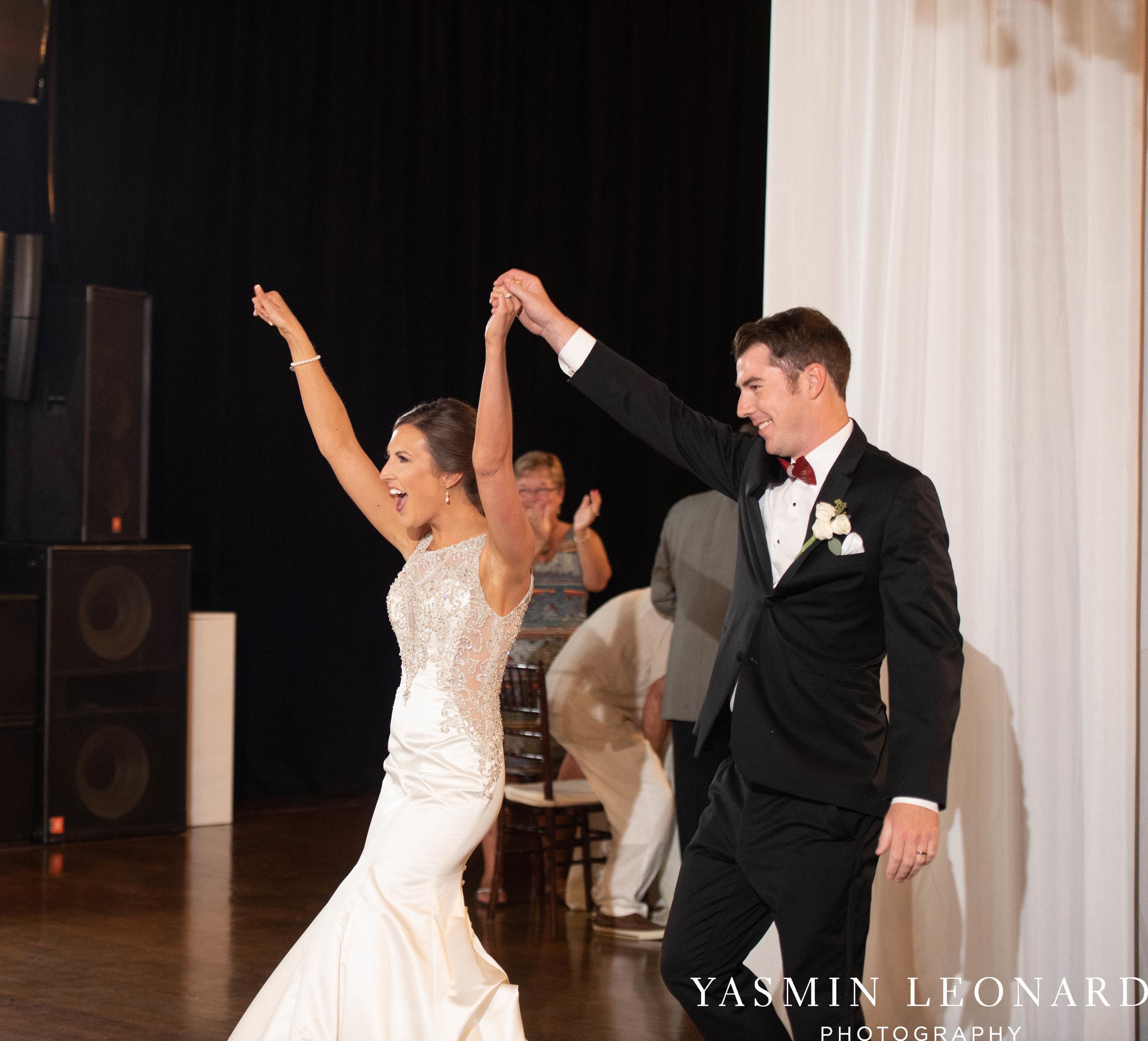 Millennium Center Wedding - Downtown Winston Salem - Winston Salem Wedding Photographer - Winston Salem Venues - Indoor Wedding Venues - NC Wedding Photographer - Yasmin Leonard Photography-70.jpg