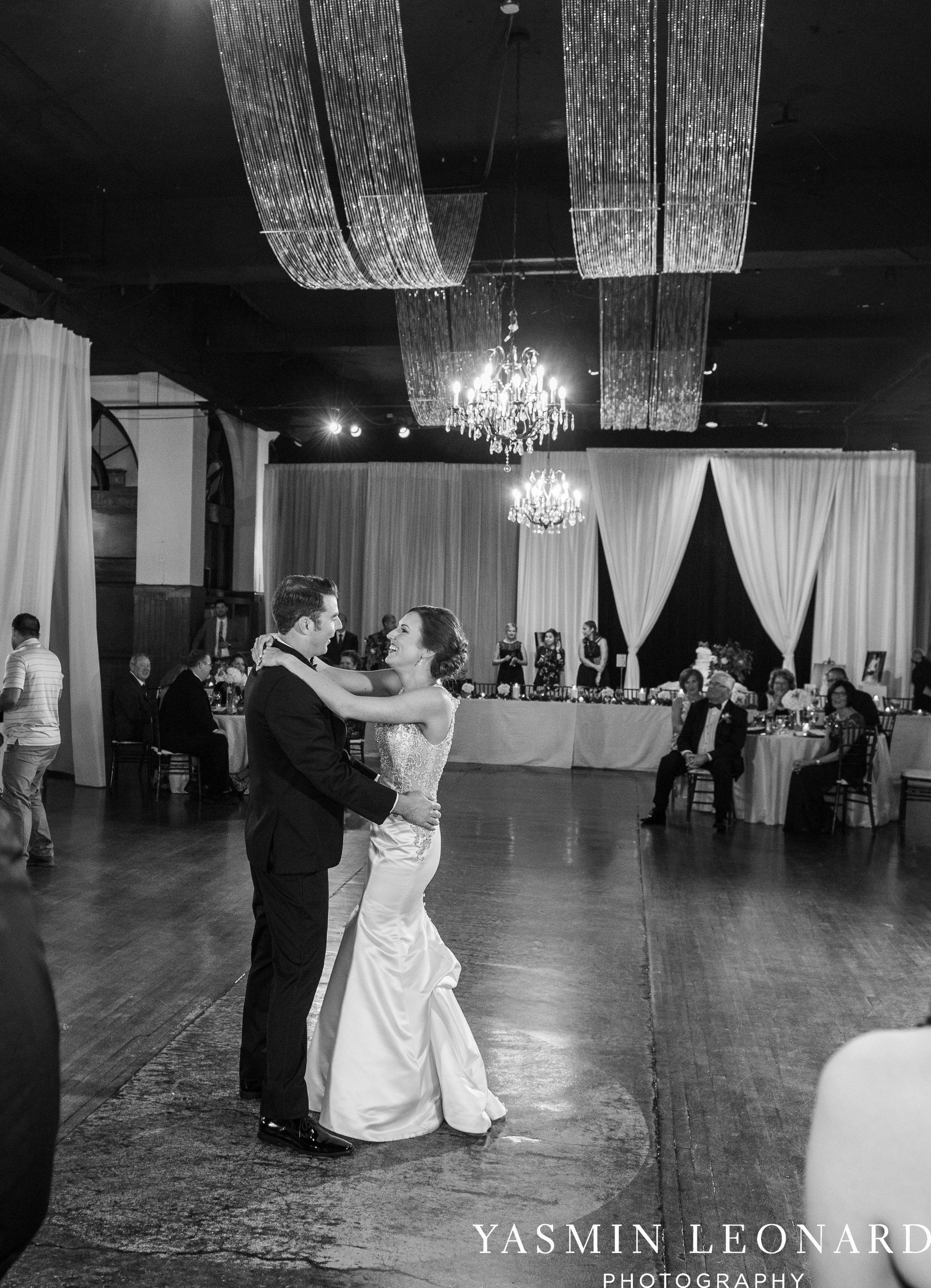 Millennium Center Wedding - Downtown Winston Salem - Winston Salem Wedding Photographer - Winston Salem Venues - Indoor Wedding Venues - NC Wedding Photographer - Yasmin Leonard Photography-72.jpg