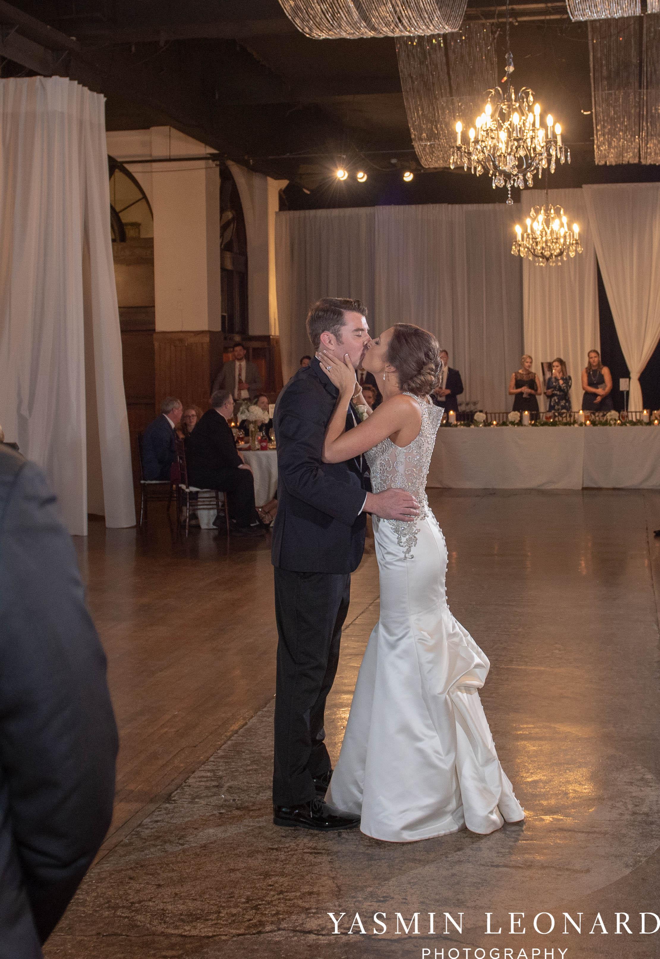 Millennium Center Wedding - Downtown Winston Salem - Winston Salem Wedding Photographer - Winston Salem Venues - Indoor Wedding Venues - NC Wedding Photographer - Yasmin Leonard Photography-73.jpg