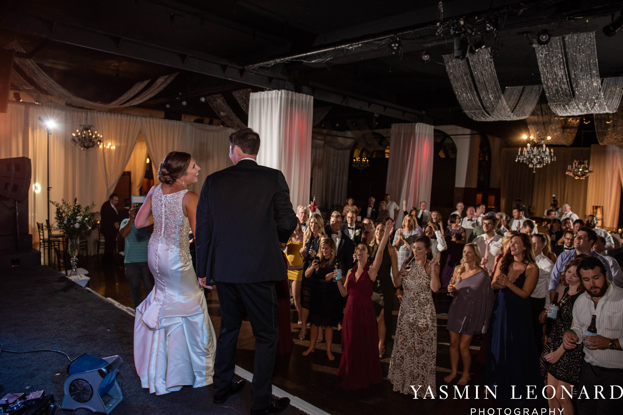 Millennium Center Wedding - Downtown Winston Salem - Winston Salem Wedding Photographer - Winston Salem Venues - Indoor Wedding Venues - NC Wedding Photographer - Yasmin Leonard Photography-82.jpg