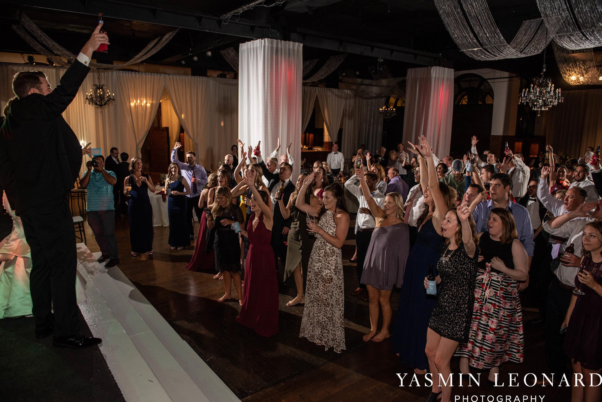Millennium Center Wedding - Downtown Winston Salem - Winston Salem Wedding Photographer - Winston Salem Venues - Indoor Wedding Venues - NC Wedding Photographer - Yasmin Leonard Photography-83.jpg