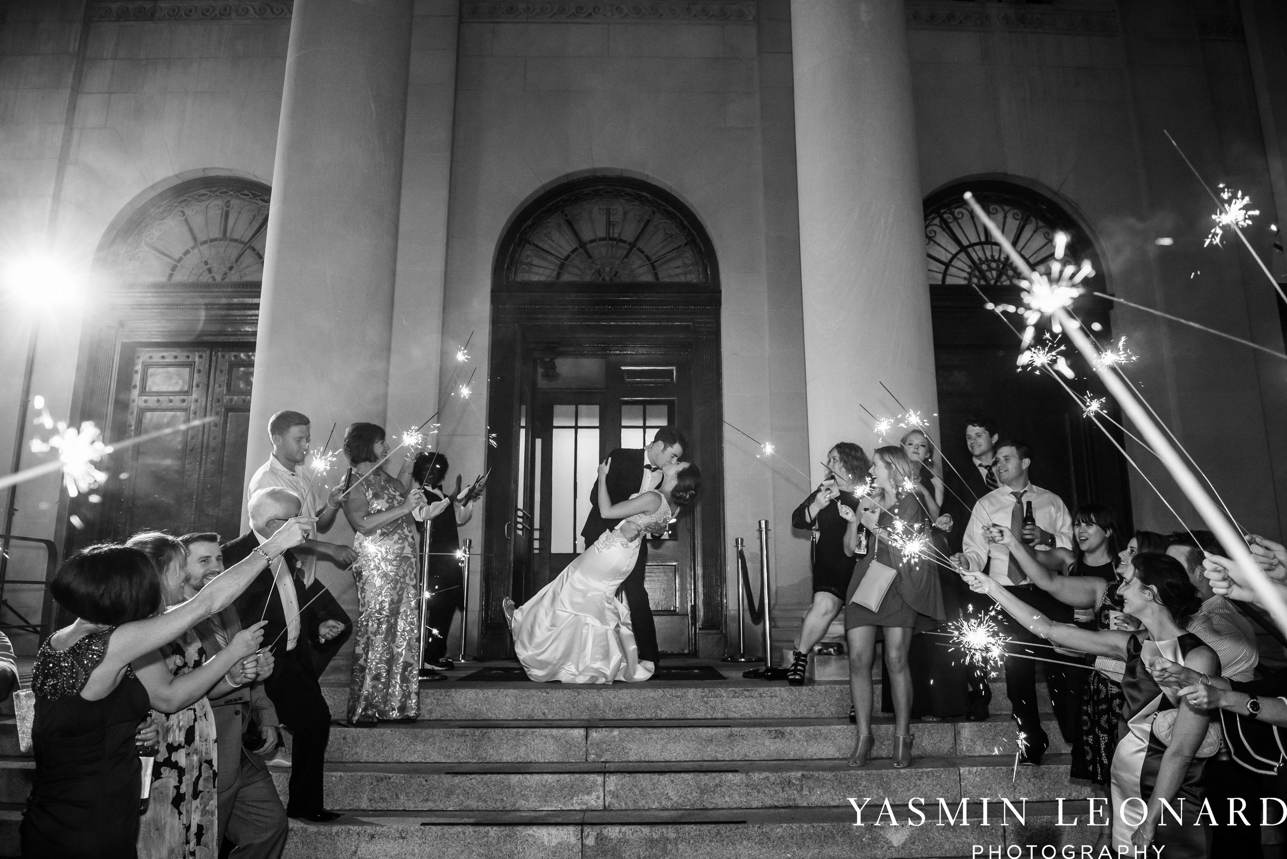 Millennium Center Wedding - Downtown Winston Salem - Winston Salem Wedding Photographer - Winston Salem Venues - Indoor Wedding Venues - NC Wedding Photographer - Yasmin Leonard Photography-86.jpg
