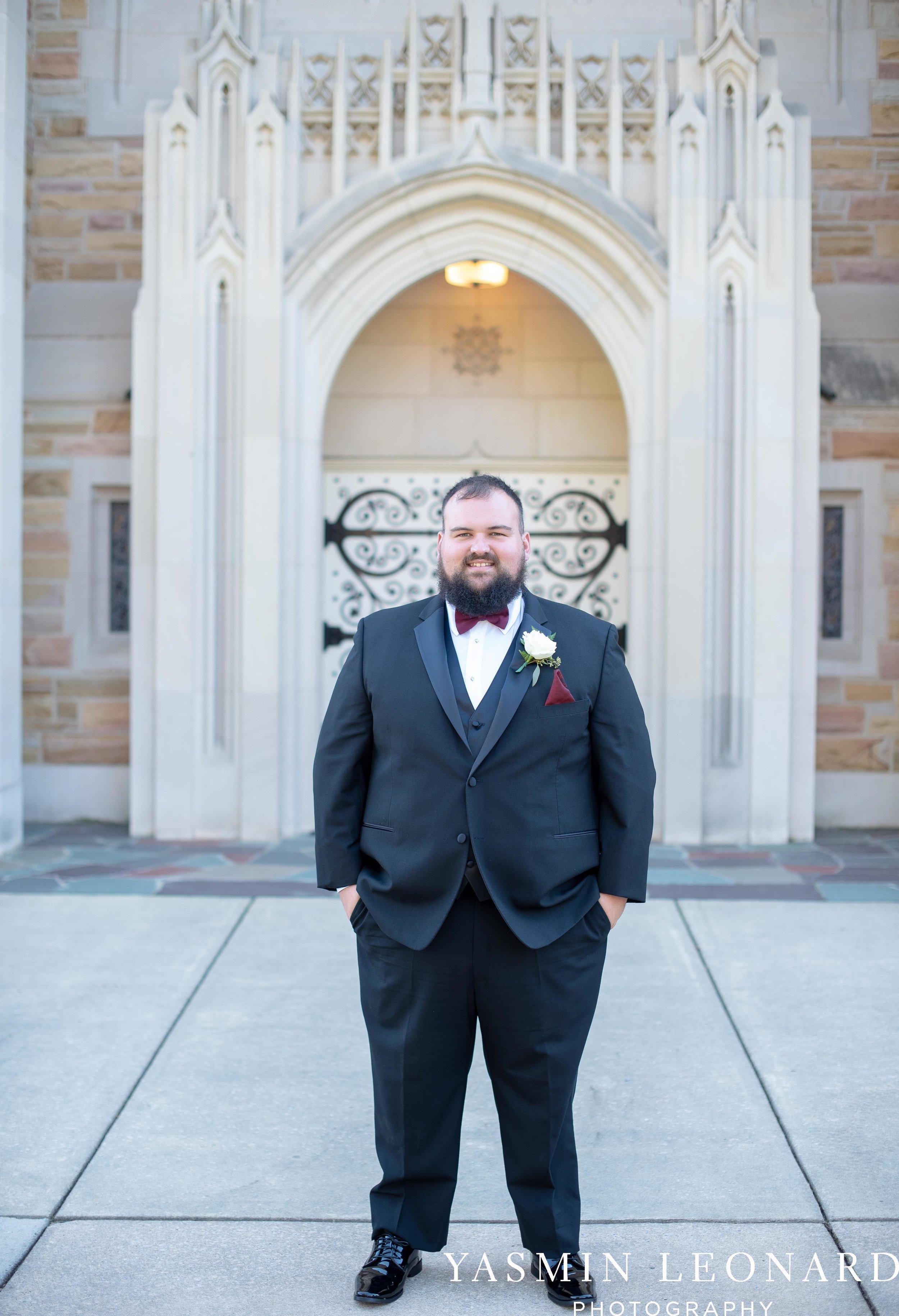 Wesley Memorial United Methodist Church - Old Homeplace Winery - High Point Weddings - High Point Wedding Photographer - NC Weddings - NC Barn Venue - Yasmin Leonard Photography-3.jpg