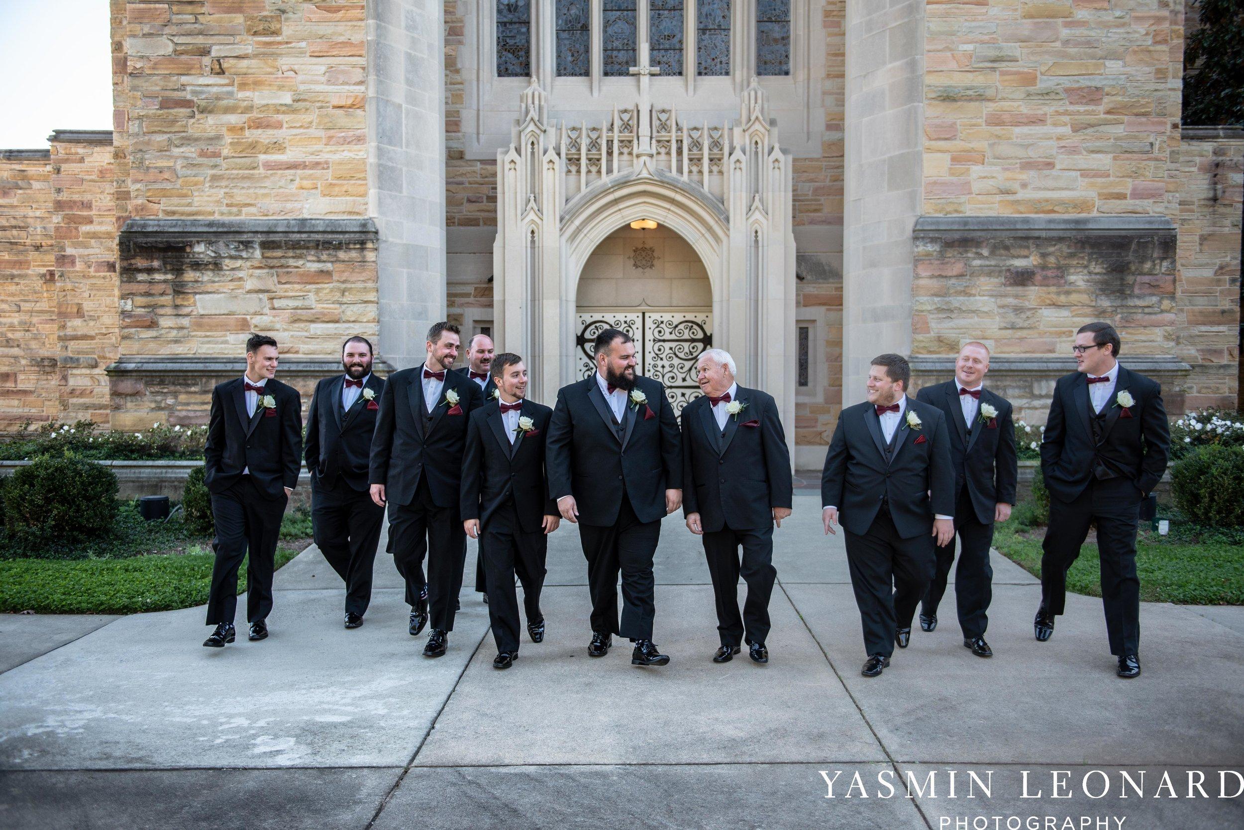 Wesley Memorial United Methodist Church - Old Homeplace Winery - High Point Weddings - High Point Wedding Photographer - NC Weddings - NC Barn Venue - Yasmin Leonard Photography-6.jpg