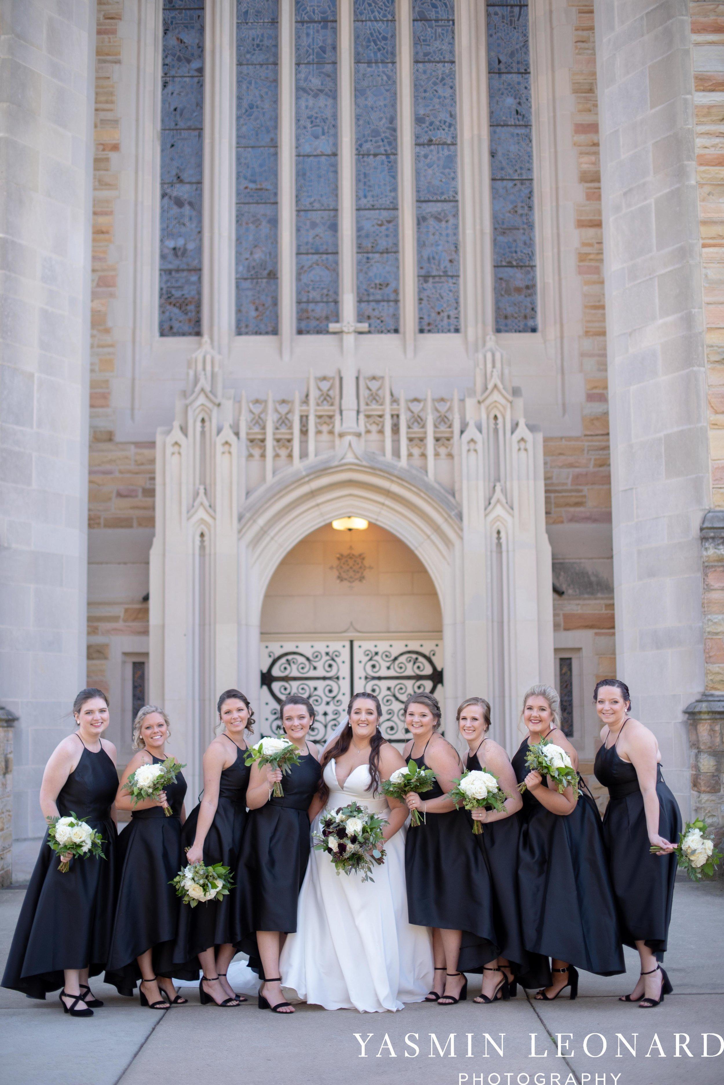 Wesley Memorial United Methodist Church - Old Homeplace Winery - High Point Weddings - High Point Wedding Photographer - NC Weddings - NC Barn Venue - Yasmin Leonard Photography-7.jpg