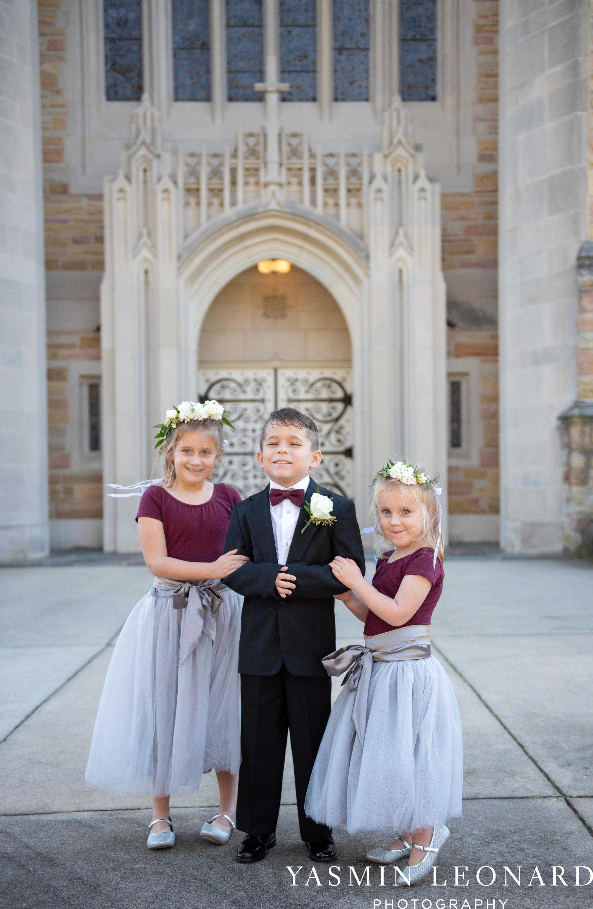 Wesley Memorial United Methodist Church - Old Homeplace Winery - High Point Weddings - High Point Wedding Photographer - NC Weddings - NC Barn Venue - Yasmin Leonard Photography-11.jpg