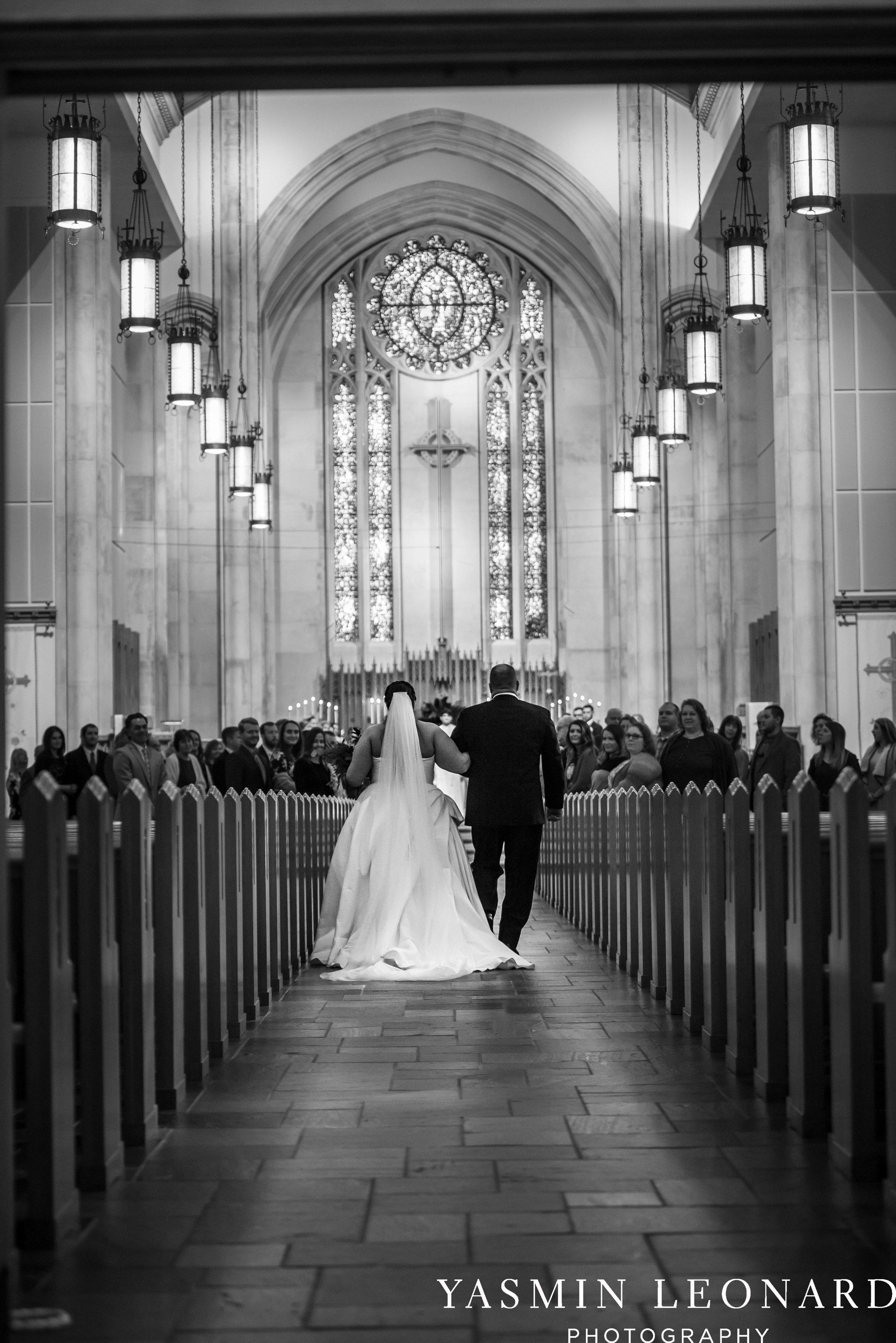 Wesley Memorial United Methodist Church - Old Homeplace Winery - High Point Weddings - High Point Wedding Photographer - NC Weddings - NC Barn Venue - Yasmin Leonard Photography-14.jpg