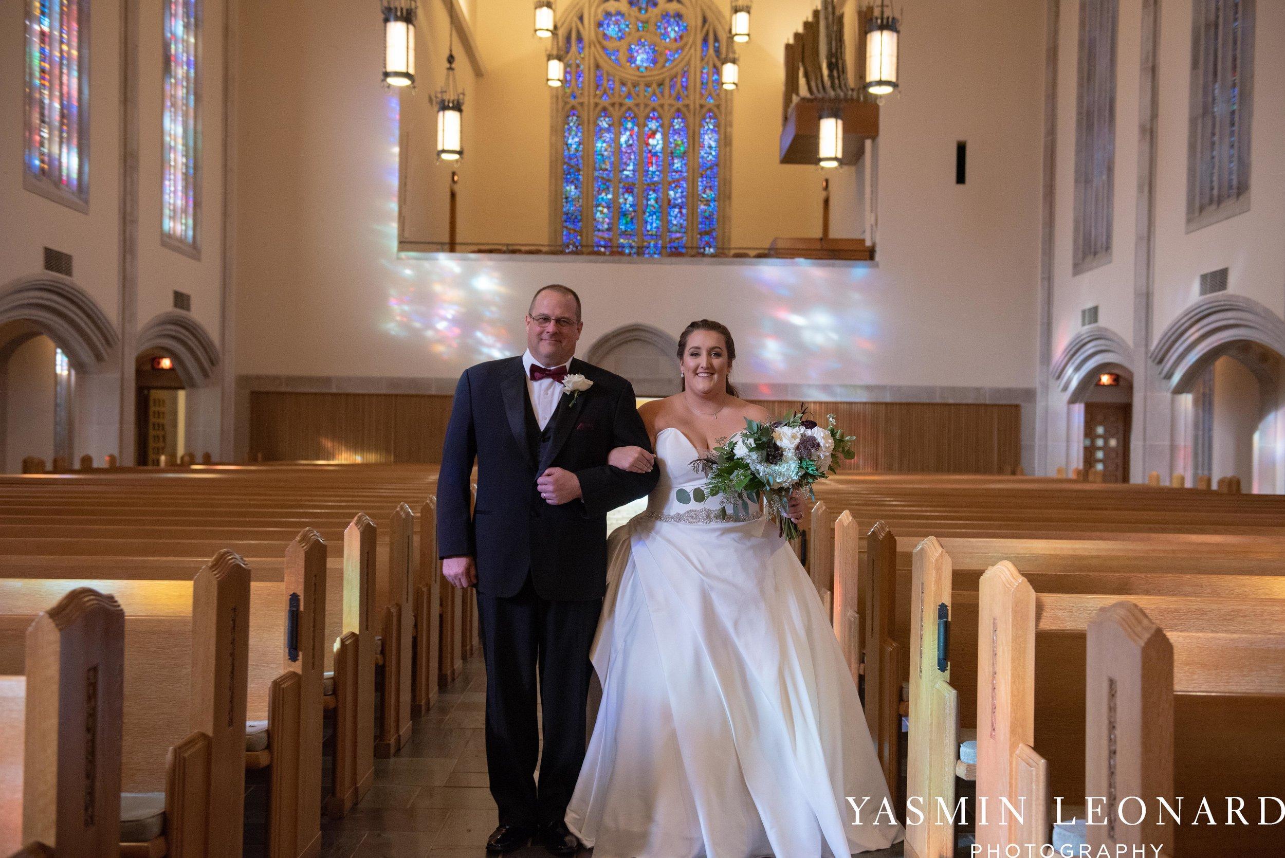 Wesley Memorial United Methodist Church - Old Homeplace Winery - High Point Weddings - High Point Wedding Photographer - NC Weddings - NC Barn Venue - Yasmin Leonard Photography-13.jpg