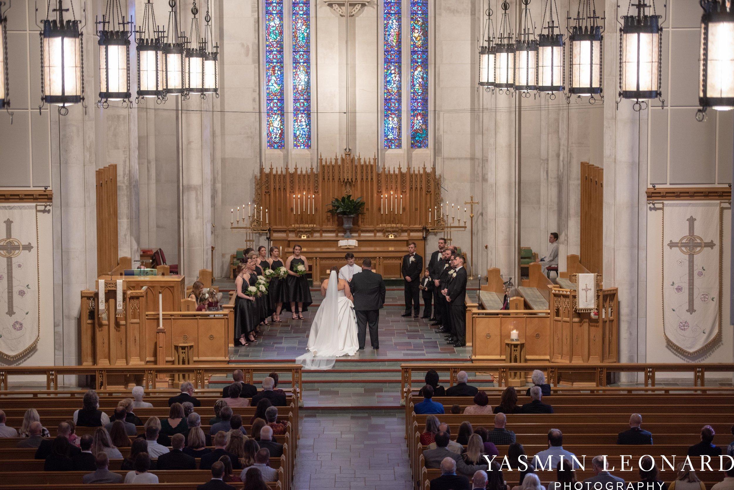 Wesley Memorial United Methodist Church - Old Homeplace Winery - High Point Weddings - High Point Wedding Photographer - NC Weddings - NC Barn Venue - Yasmin Leonard Photography-16.jpg