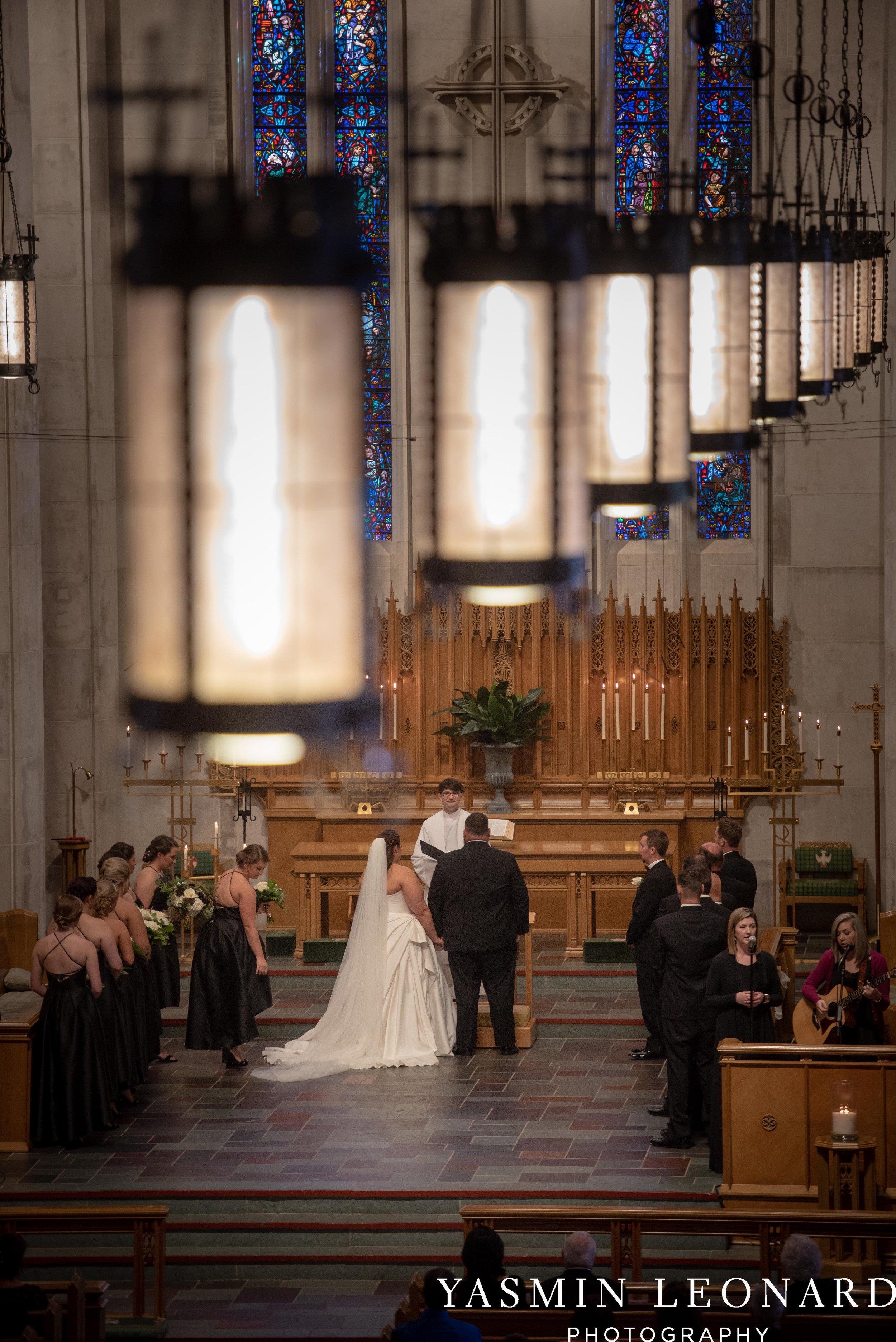 Wesley Memorial United Methodist Church - Old Homeplace Winery - High Point Weddings - High Point Wedding Photographer - NC Weddings - NC Barn Venue - Yasmin Leonard Photography-18.jpg