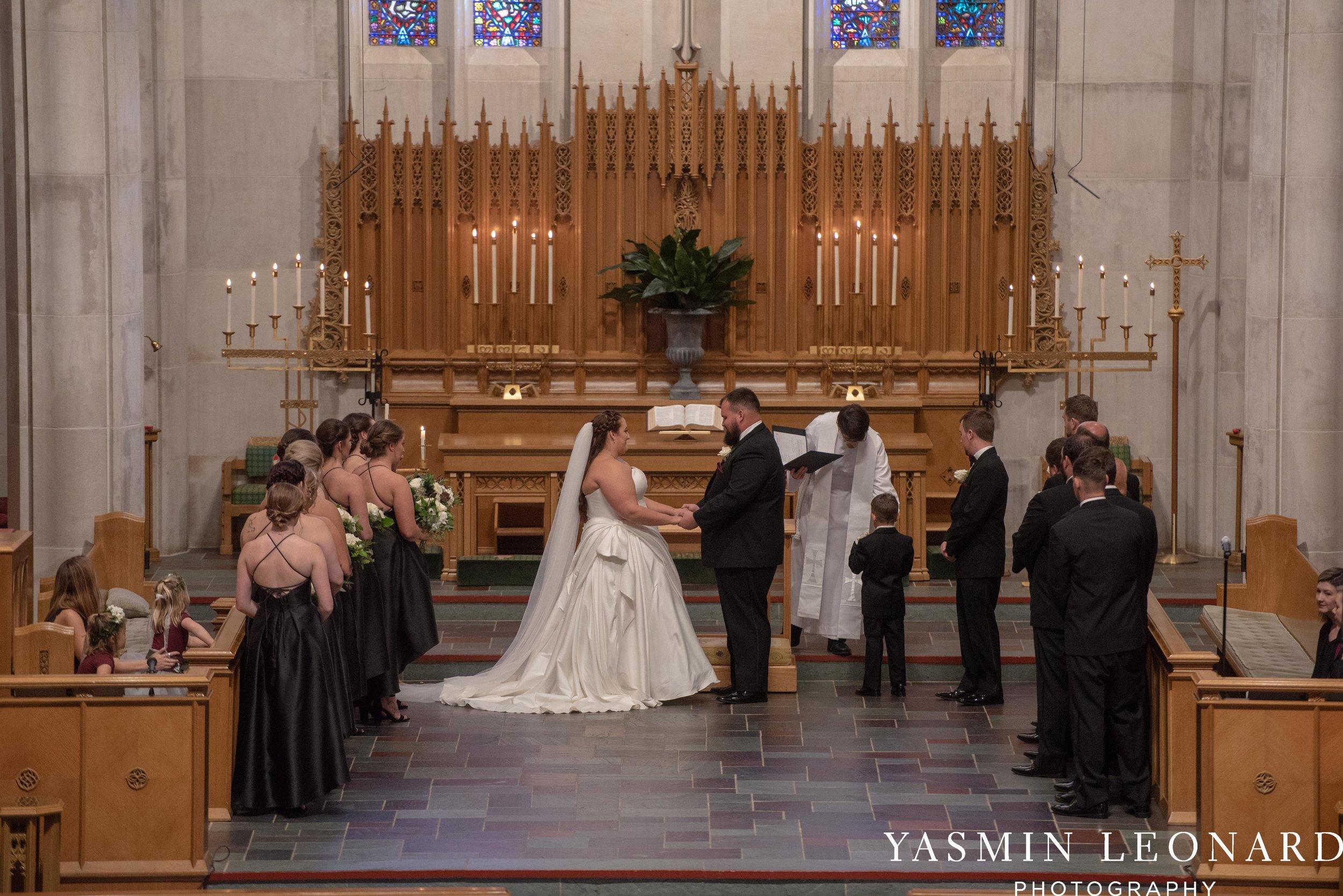 Wesley Memorial United Methodist Church - Old Homeplace Winery - High Point Weddings - High Point Wedding Photographer - NC Weddings - NC Barn Venue - Yasmin Leonard Photography-17.jpg