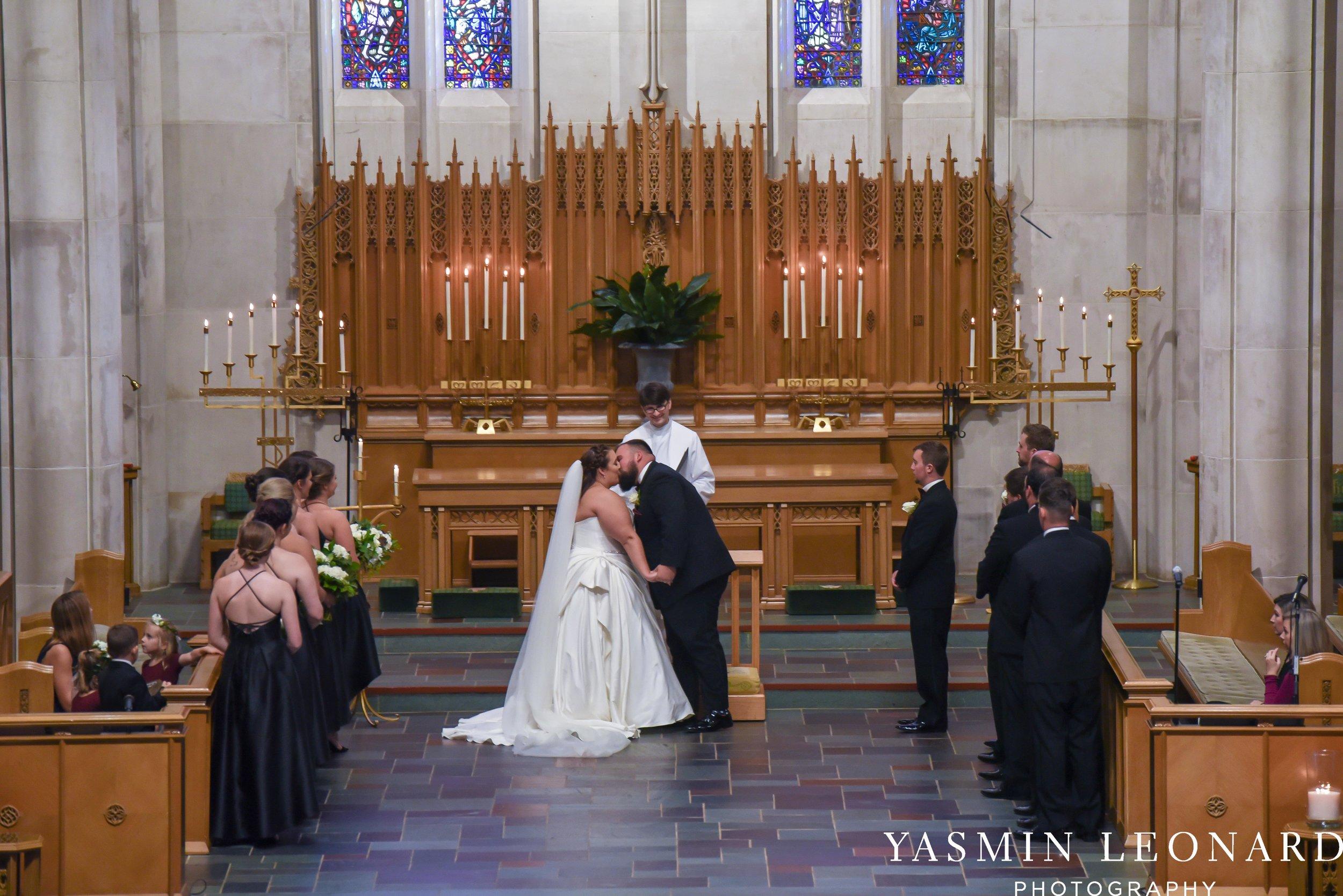 Wesley Memorial United Methodist Church - Old Homeplace Winery - High Point Weddings - High Point Wedding Photographer - NC Weddings - NC Barn Venue - Yasmin Leonard Photography-20.jpg