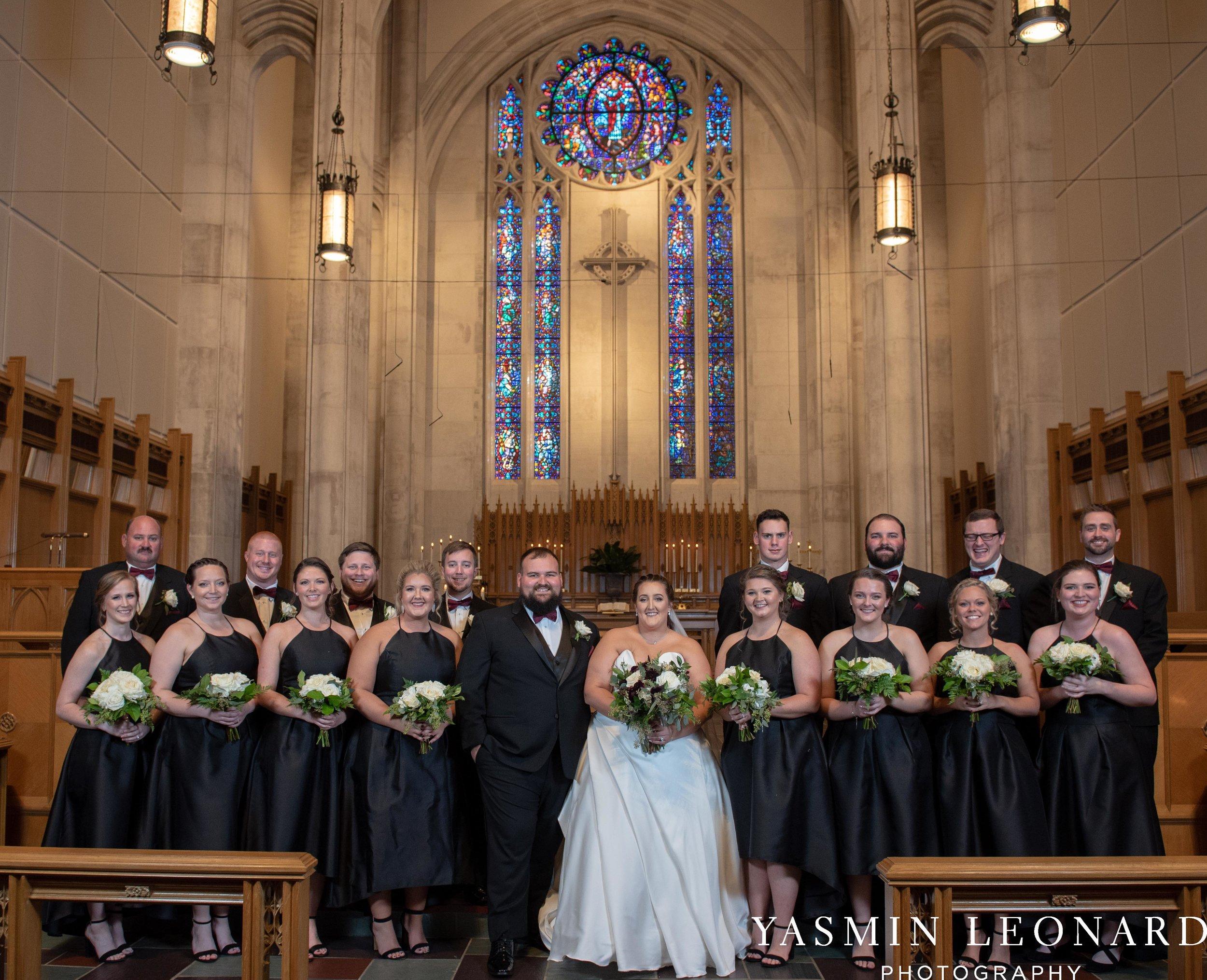 Wesley Memorial United Methodist Church - Old Homeplace Winery - High Point Weddings - High Point Wedding Photographer - NC Weddings - NC Barn Venue - Yasmin Leonard Photography-21.jpg