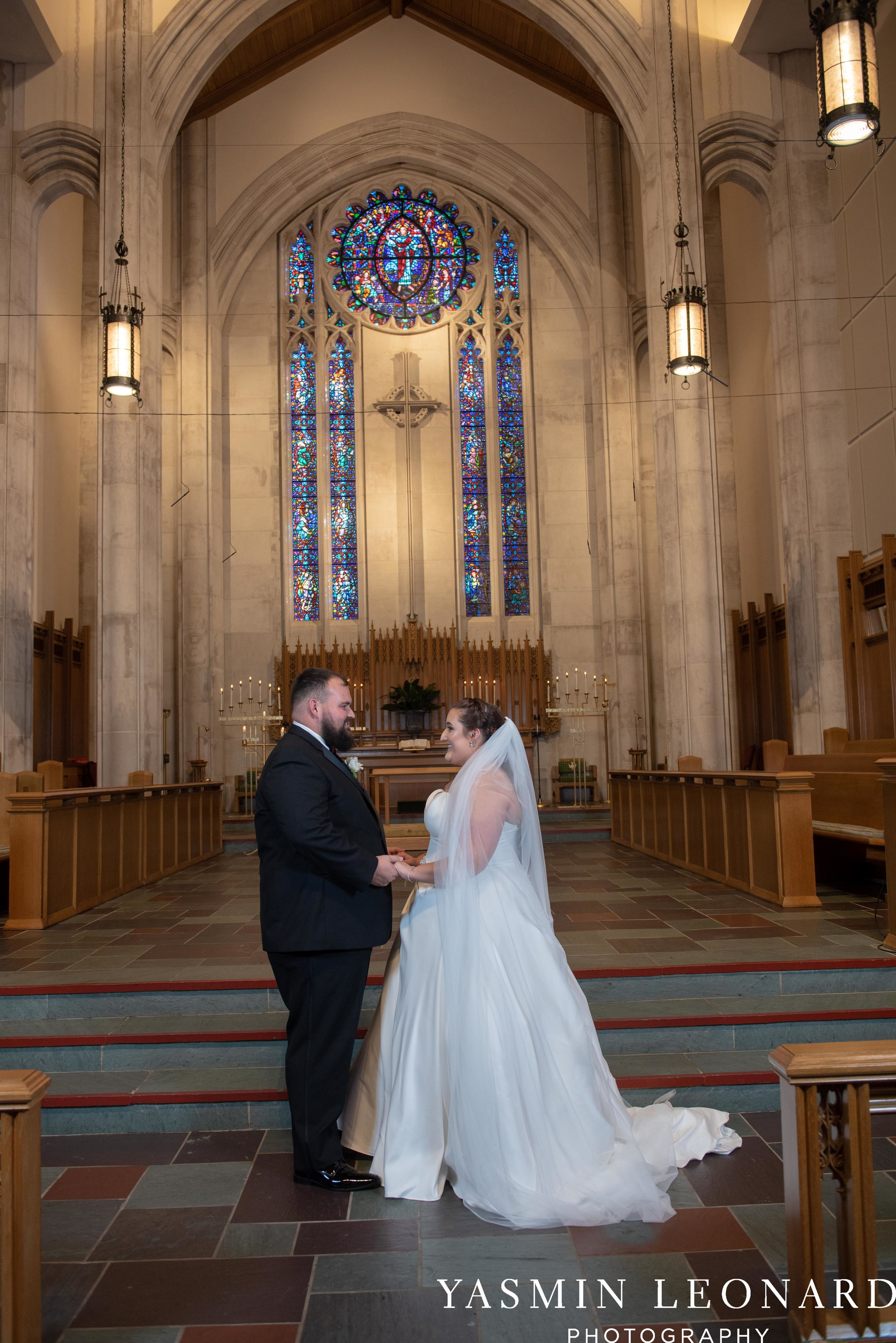 Wesley Memorial United Methodist Church - Old Homeplace Winery - High Point Weddings - High Point Wedding Photographer - NC Weddings - NC Barn Venue - Yasmin Leonard Photography-22.jpg